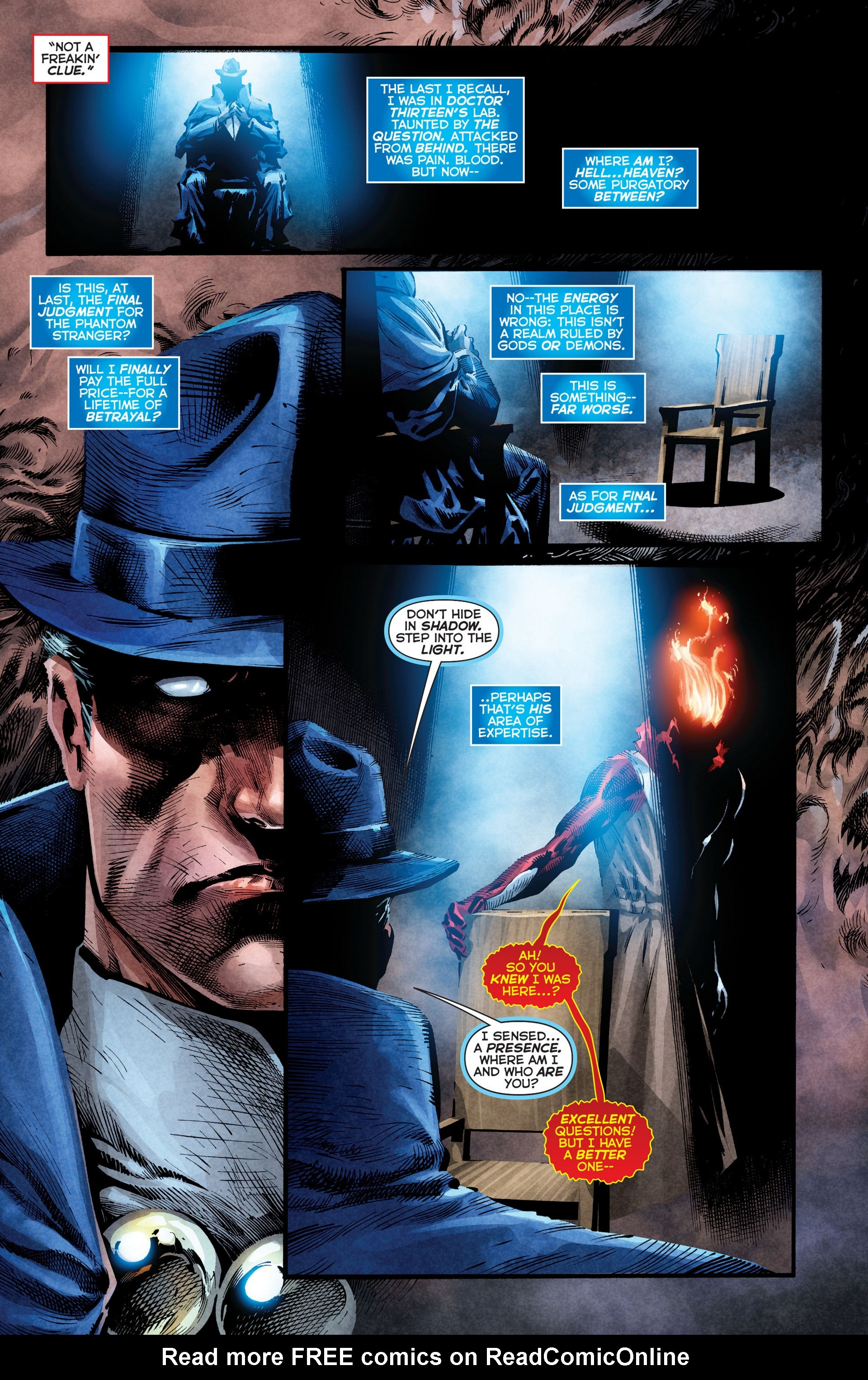 Read online Trinity of Sin: The Phantom Stranger comic -  Issue #8 - 5