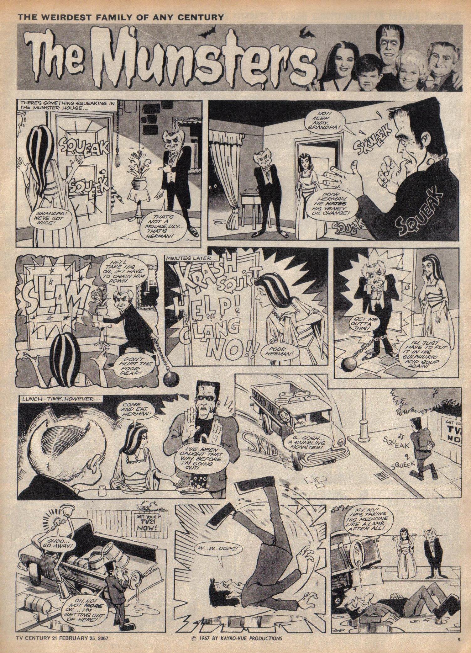 Read online TV Century 21 (TV 21) comic -  Issue #110 - 9