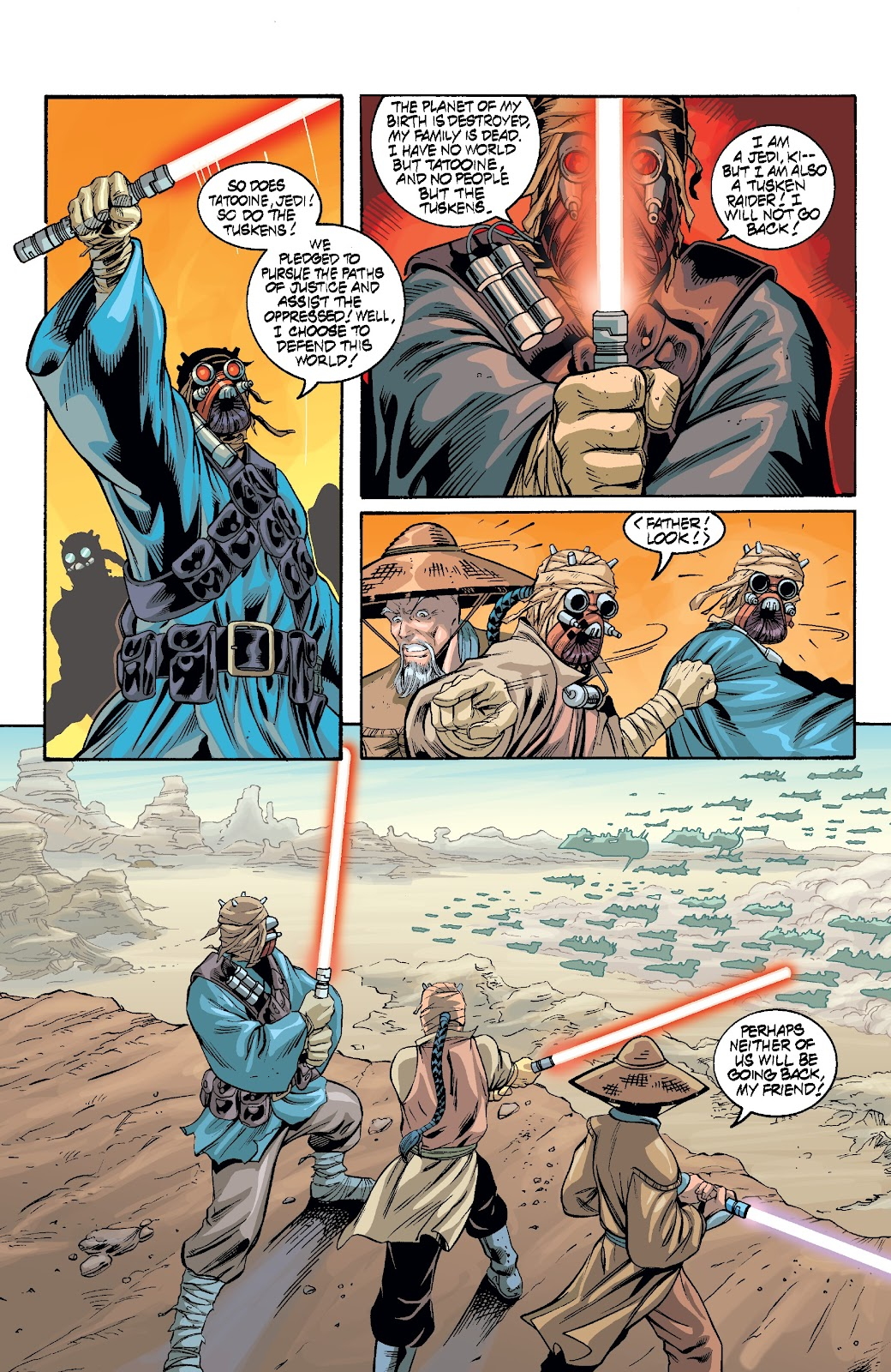 Read online Star Wars Legends Epic Collection: The Menace Revealed comic -  Issue # TPB (Part 3) - 9
