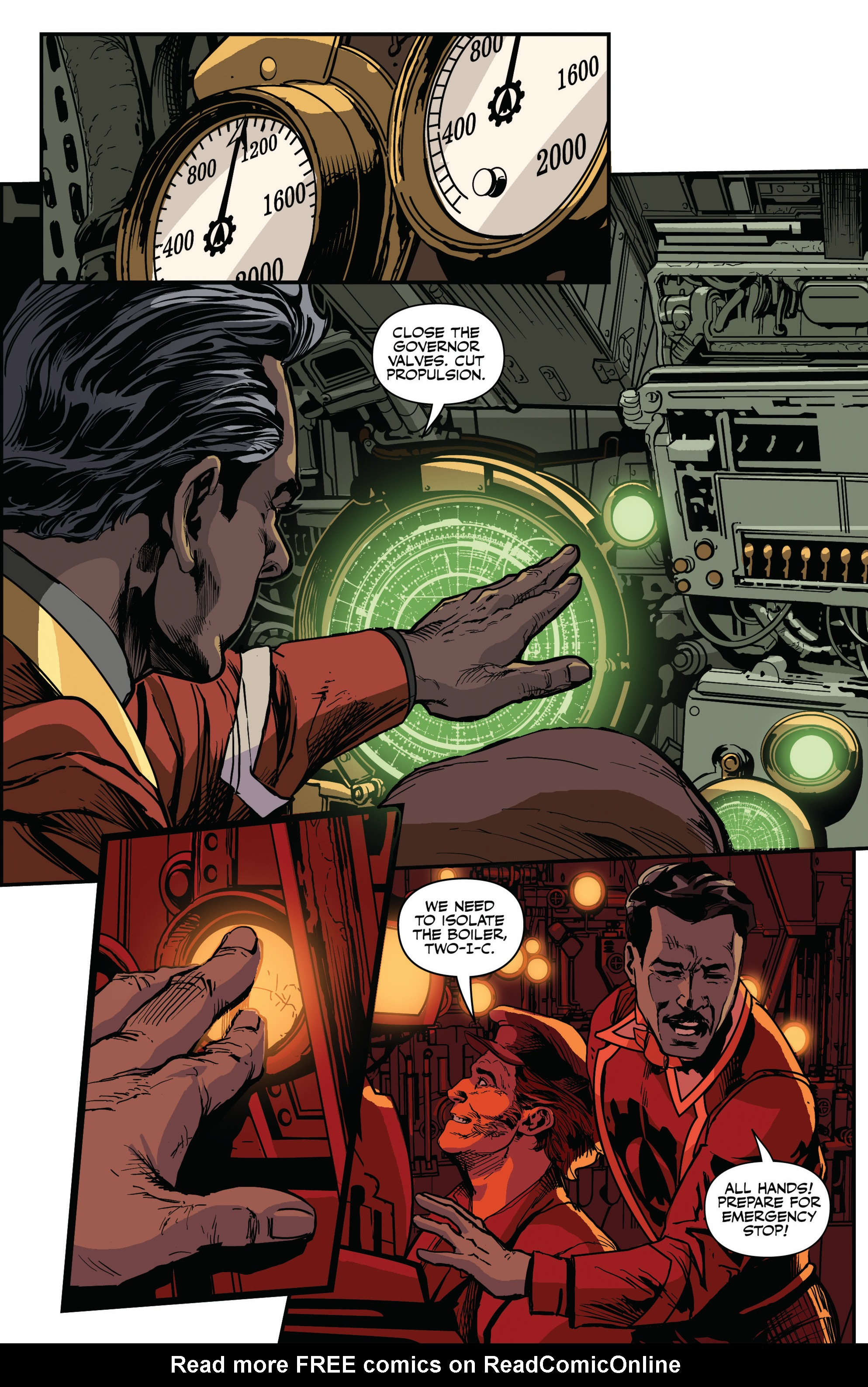 Read online Airship Enterprise: The Infernal Machine comic -  Issue #3 - 13