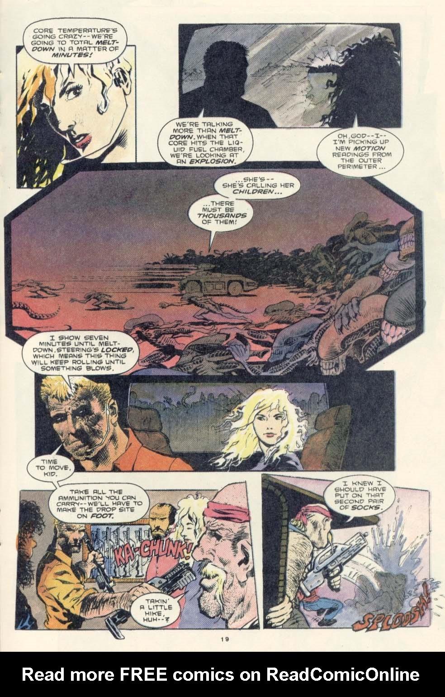 Read online Aliens: Earth War comic -  Issue #3 - 21