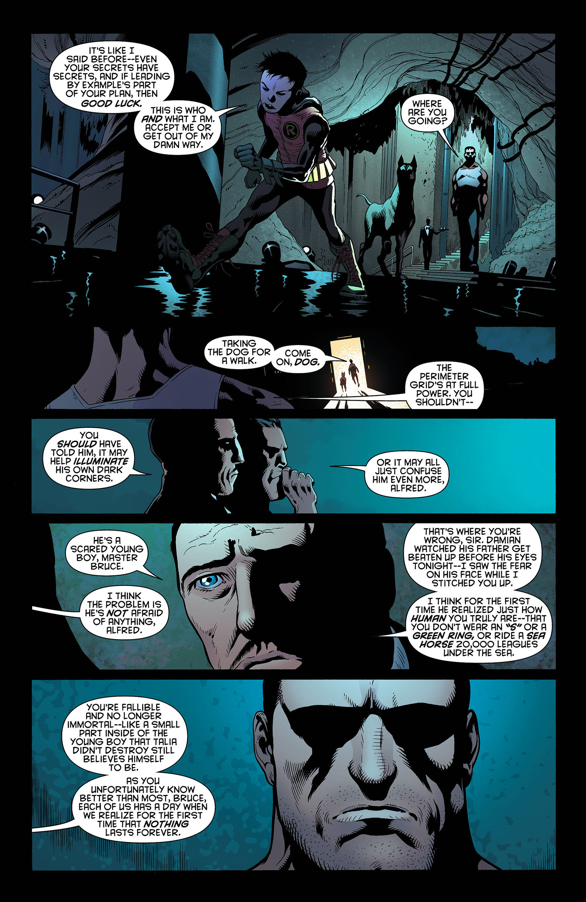 Read online Batman and Robin (2011) comic -  Issue #4 - 17