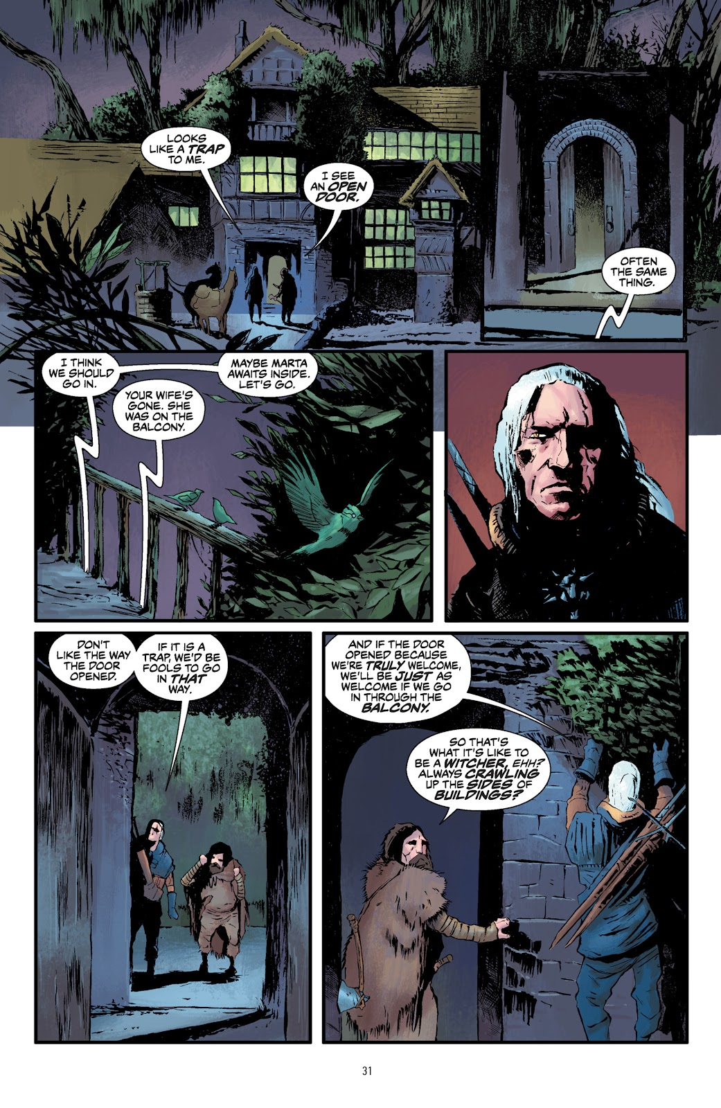 Read online The Witcher Omnibus comic -  Issue # TPB (Part 1) - 31