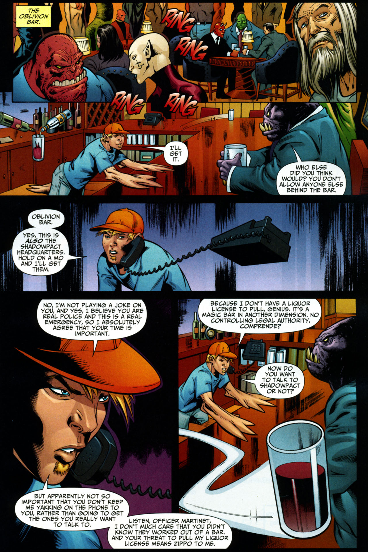 Read online Shadowpact comic -  Issue #15 - 7