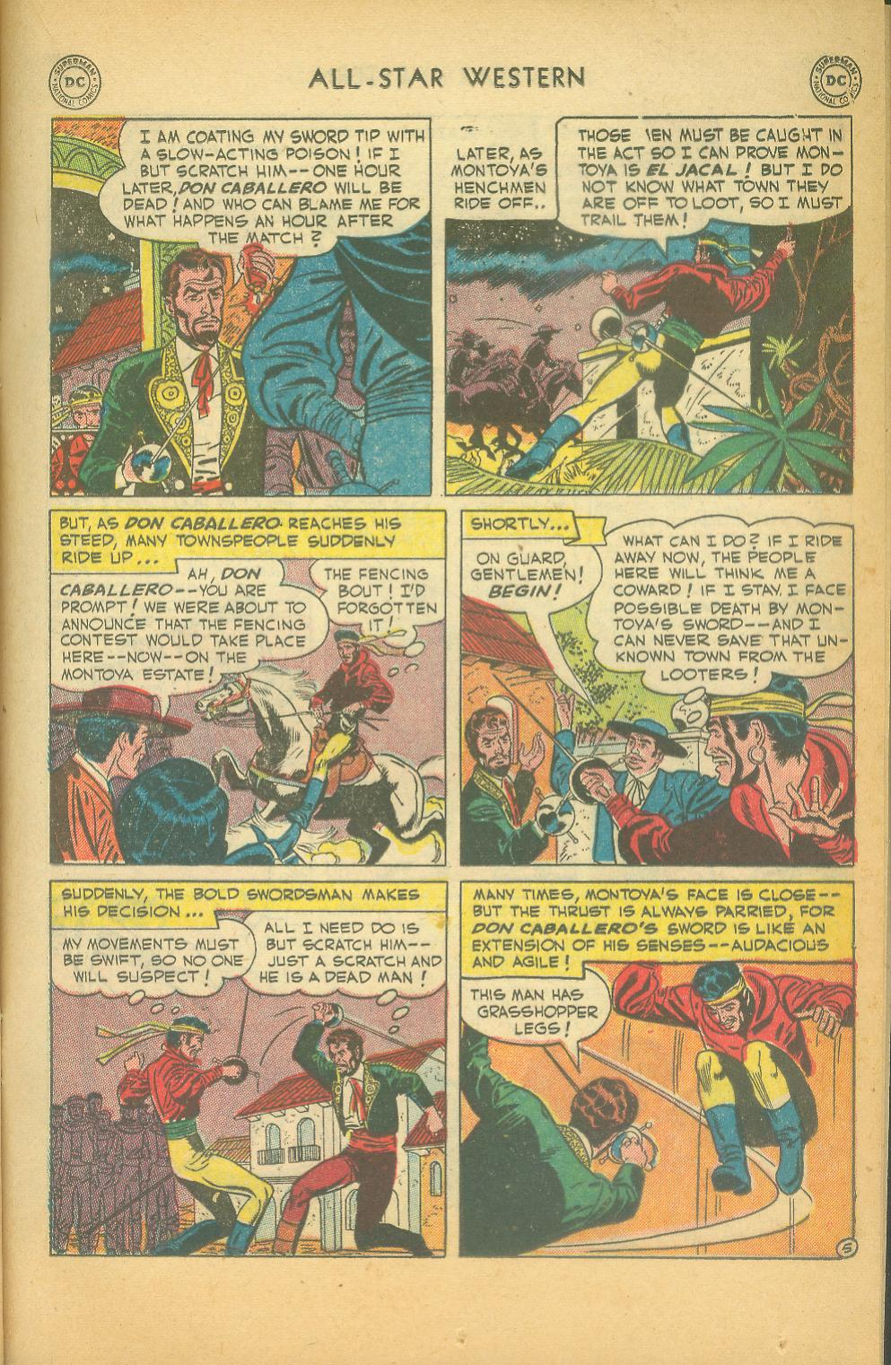 Read online All-Star Western (1951) comic -  Issue #61 - 19