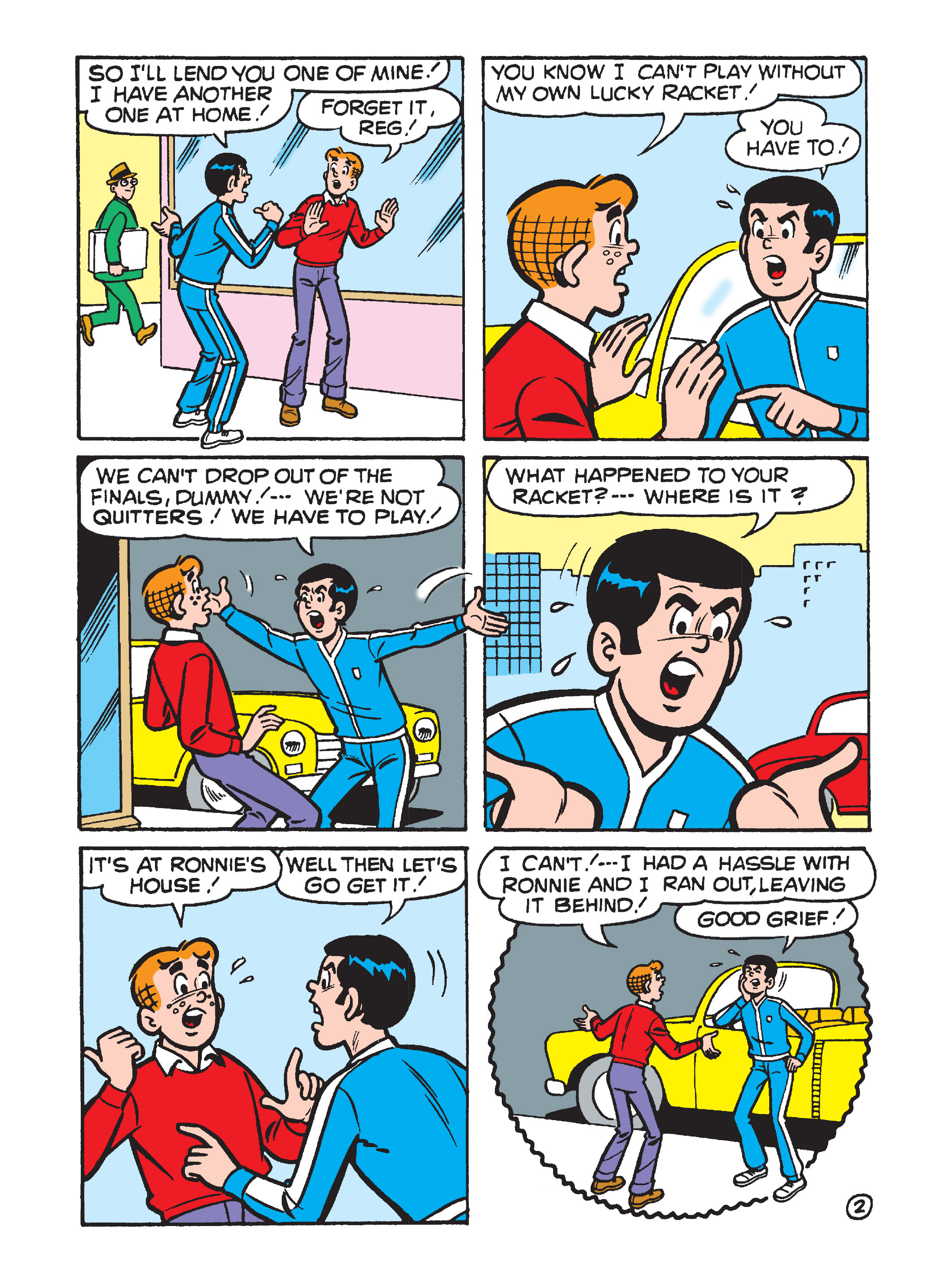 Read online Archie's Funhouse Double Digest comic -  Issue #8 - 25