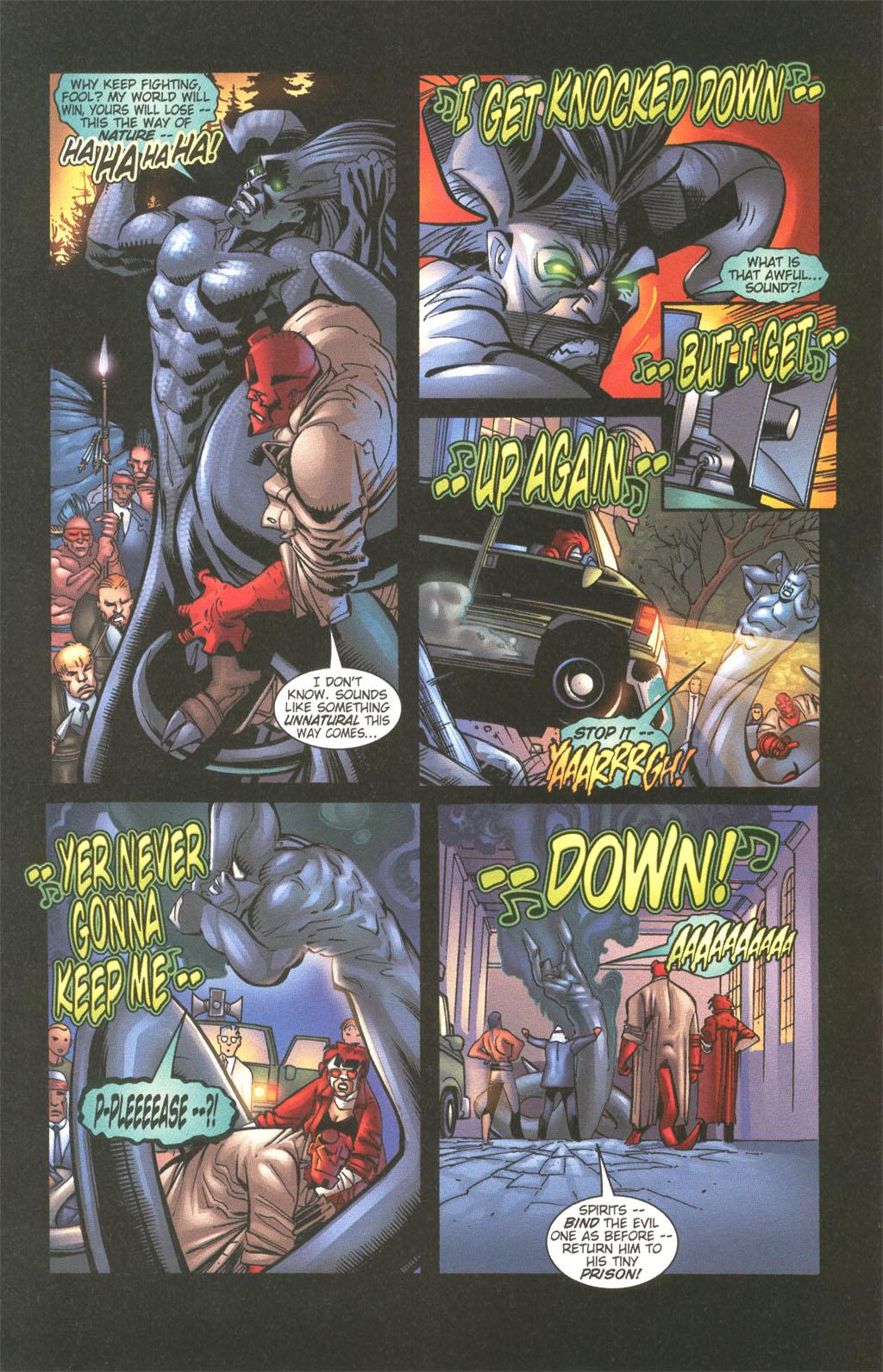 Read online Painkiller Jane/Hellboy comic -  Issue # Full - 22