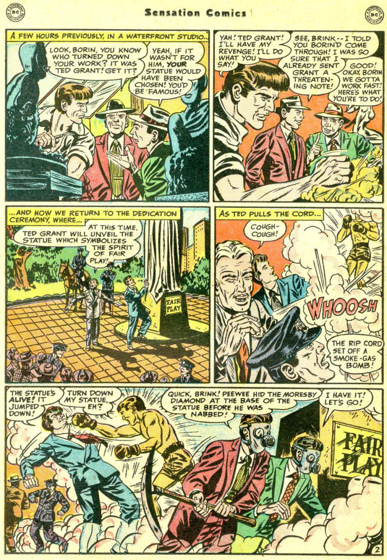 Read online Sensation (Mystery) Comics comic -  Issue #87 - 18