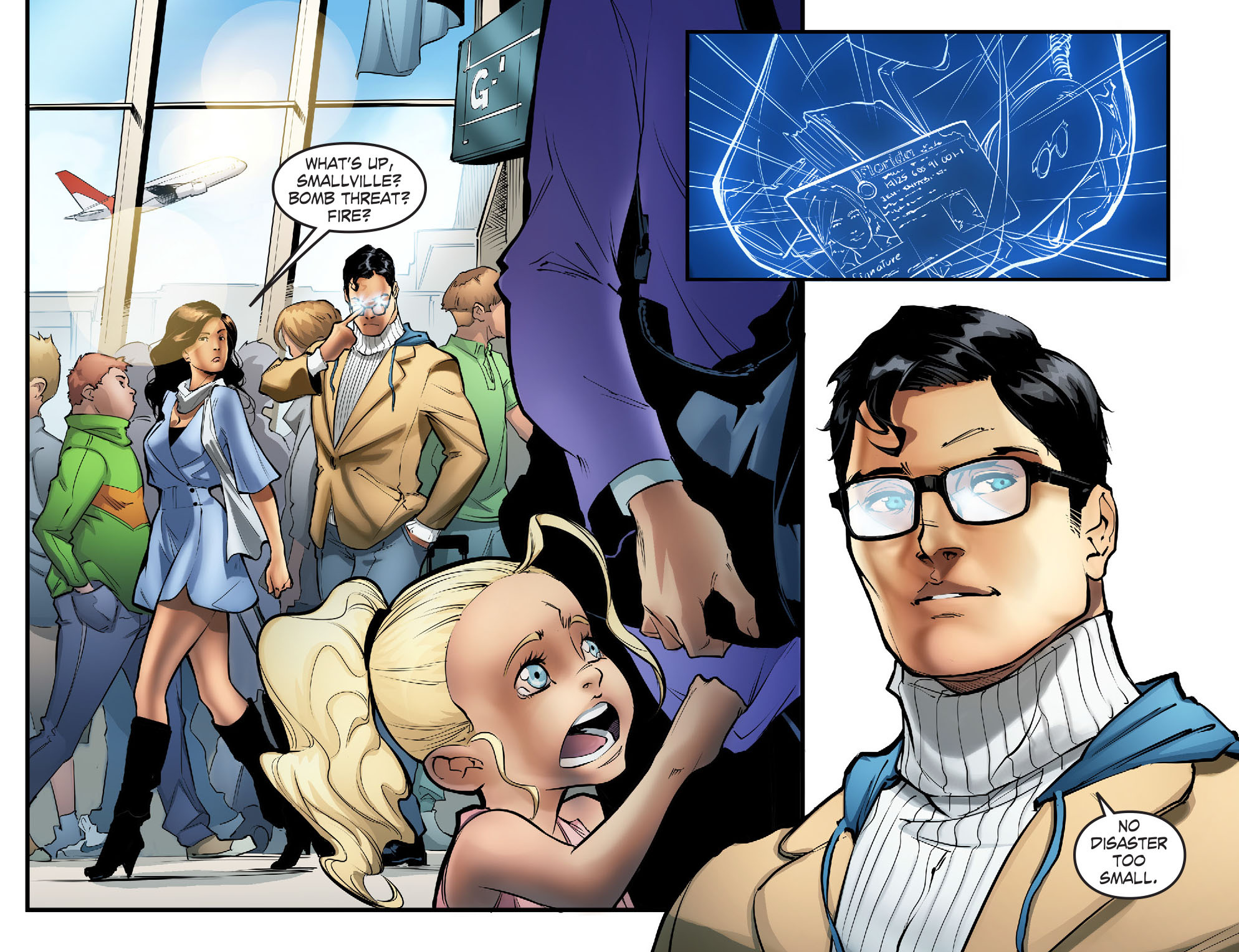 Read online Smallville: Season 11 comic -  Issue #57 - 6