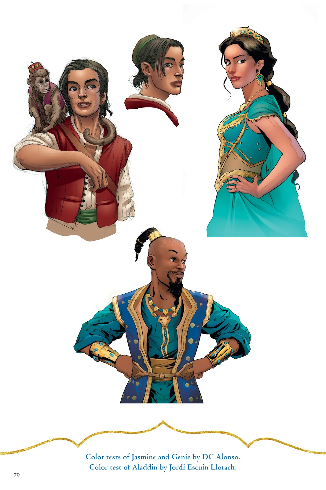 Read online Disney Aladdin: Four Tales of Agrabah comic -  Issue # TPB - 70