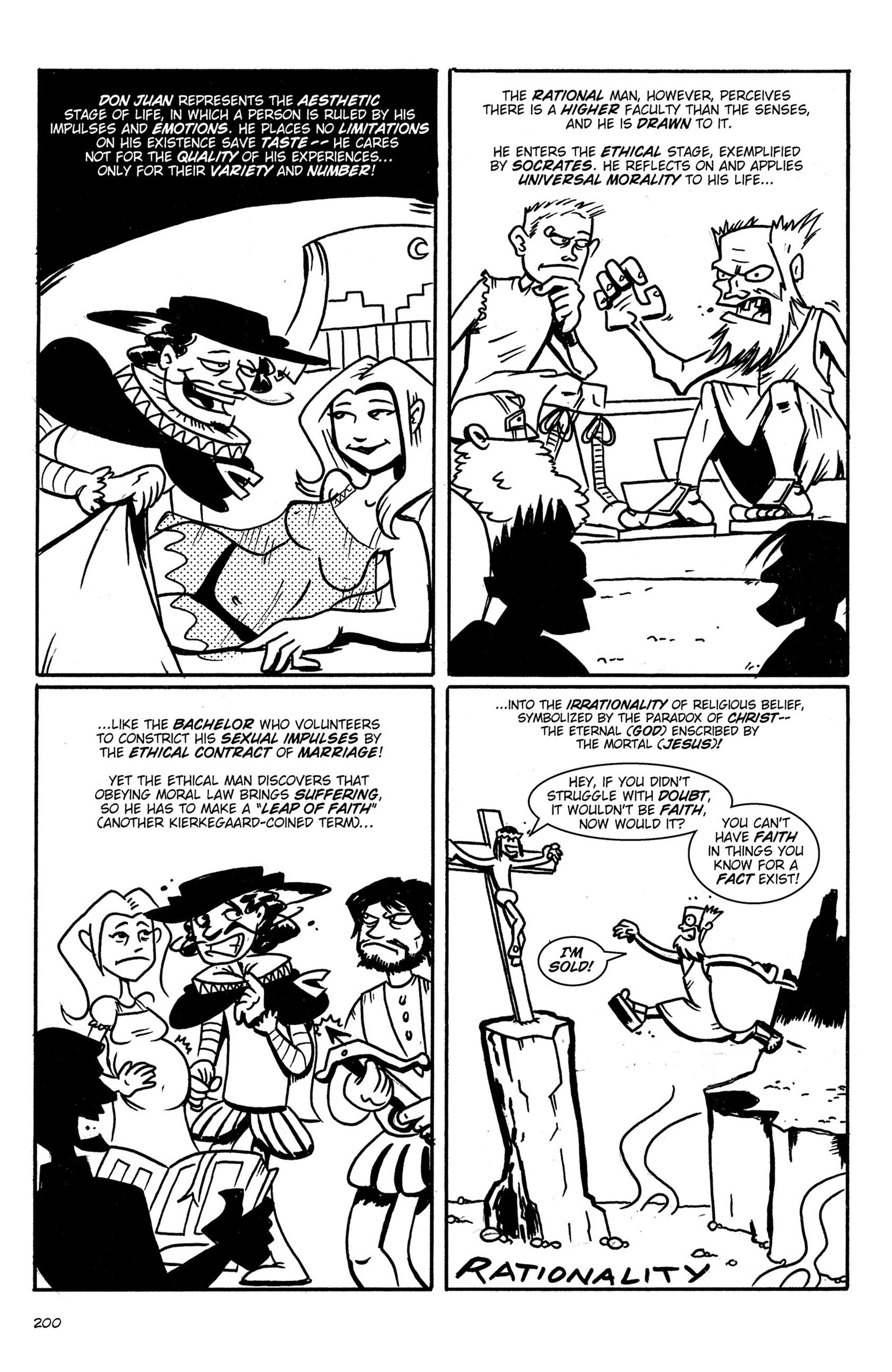 Read online Action Philosophers! comic -  Issue #Action Philosophers! TPB (Part 2) - 28
