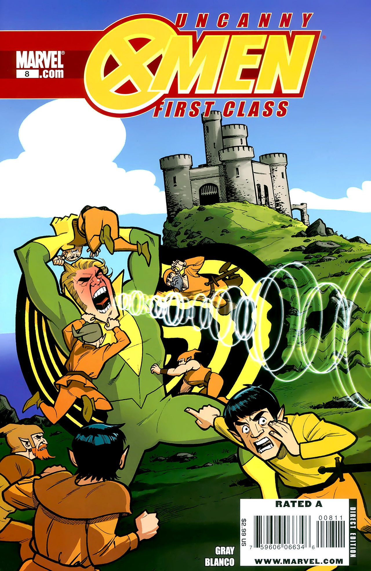 Read online Uncanny X-Men: First Class comic -  Issue #8 - 1