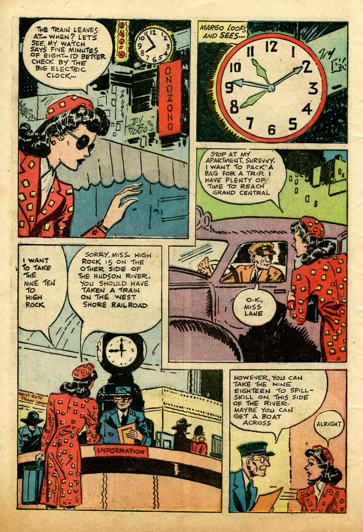 Read online Shadow Comics comic -  Issue #74 - 8