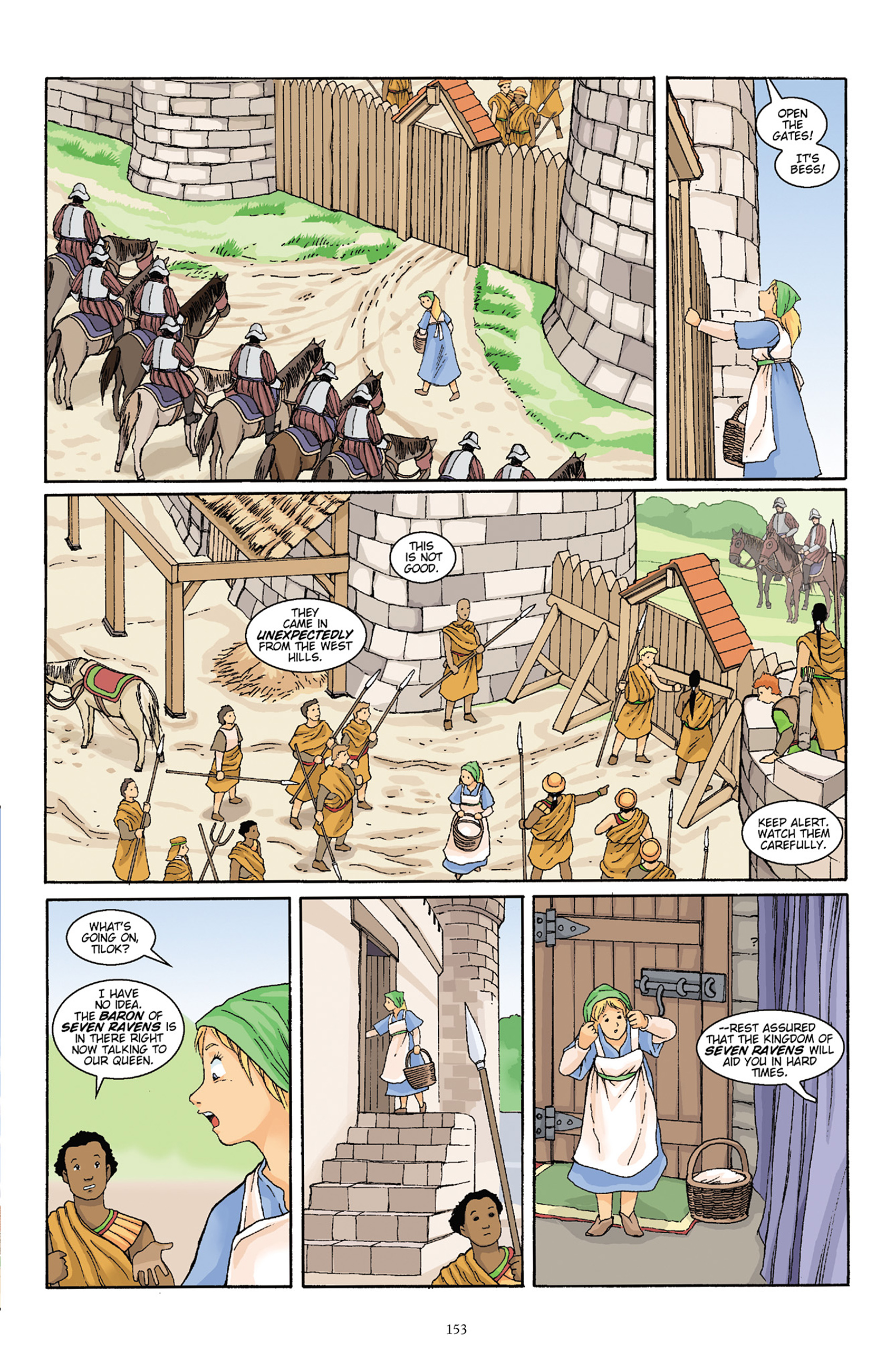 Read online Courageous Princess comic -  Issue # TPB 1 - 152