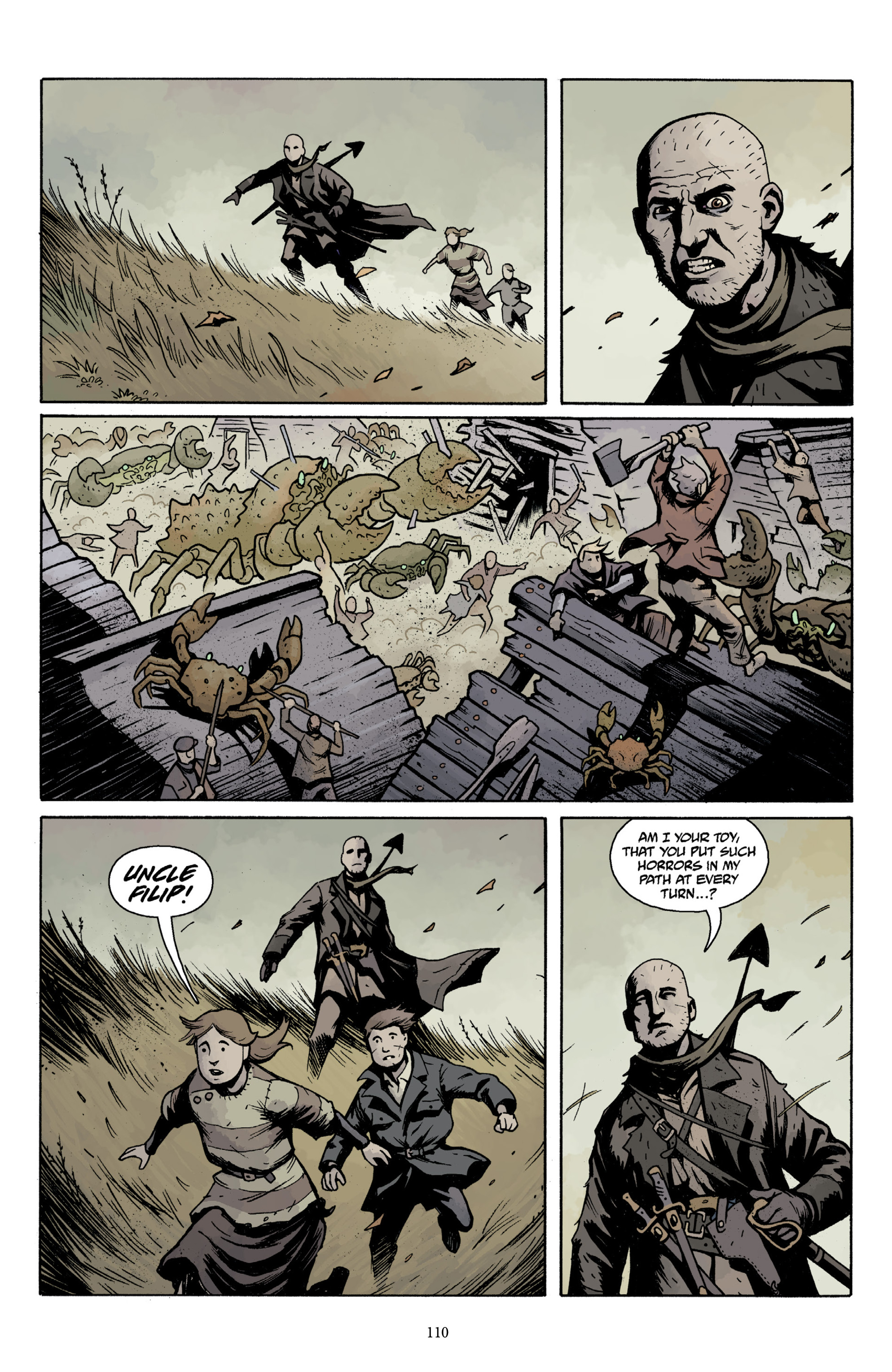 Read online Baltimore Volume 3: A Passing Stranger and Other Stories comic -  Issue # Full - 112