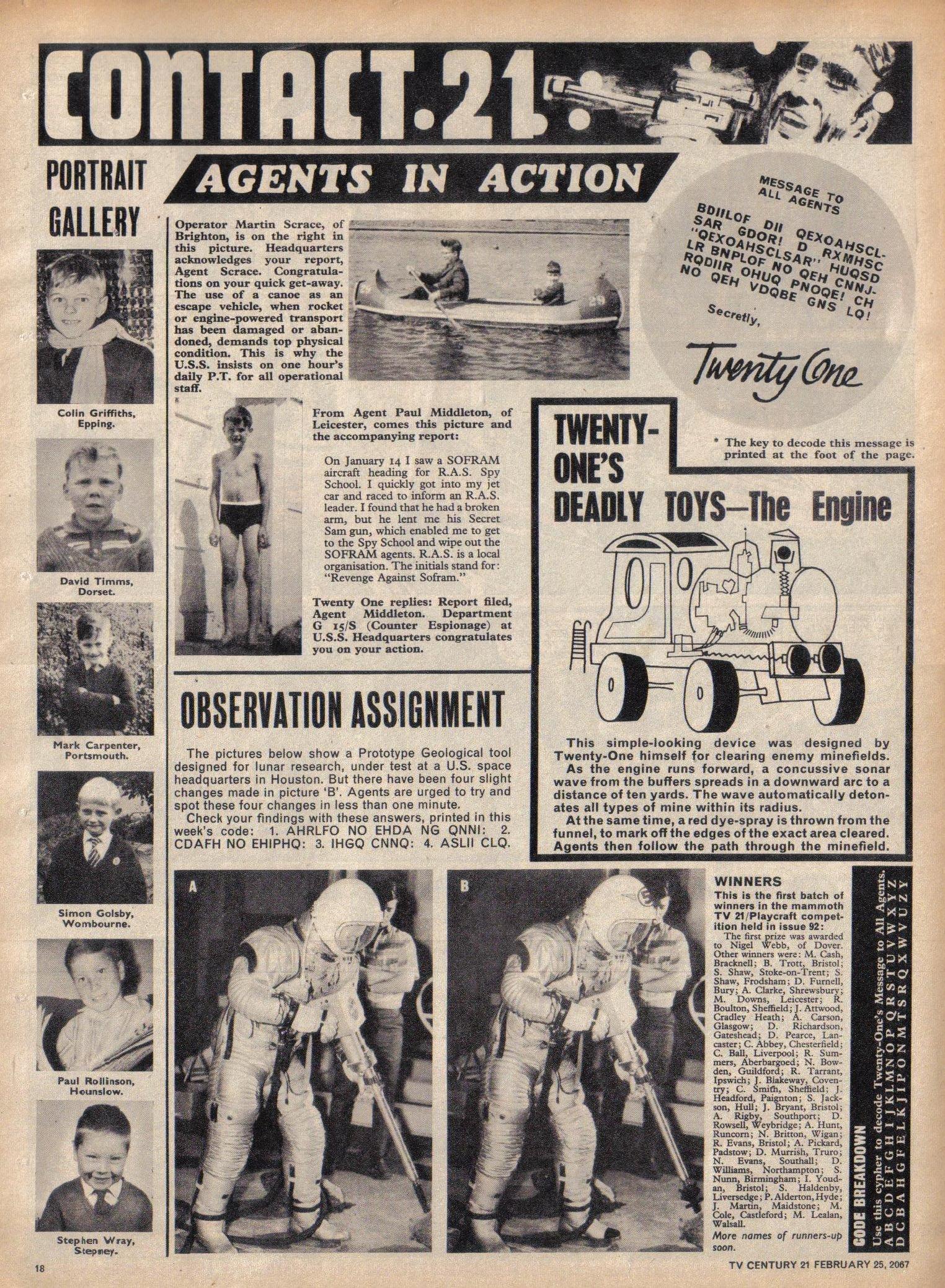 Read online TV Century 21 (TV 21) comic -  Issue #110 - 17