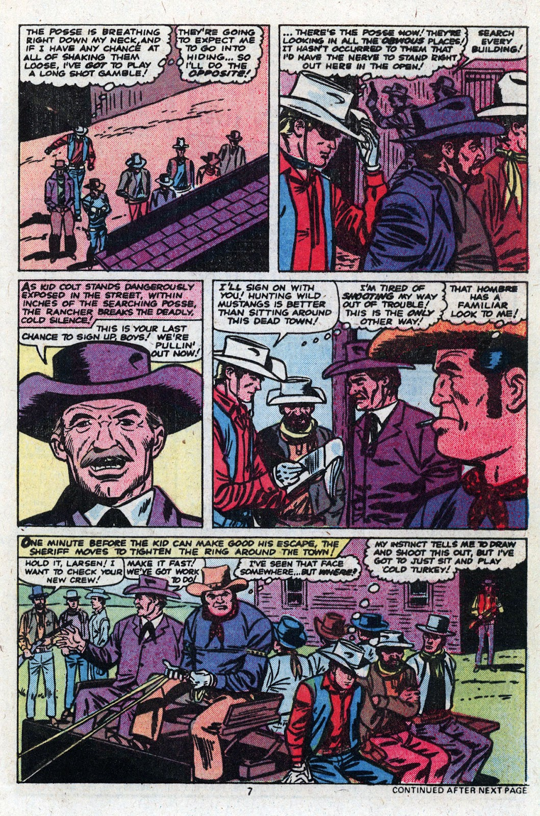Kid Colt Outlaw issue 227 - Page 9