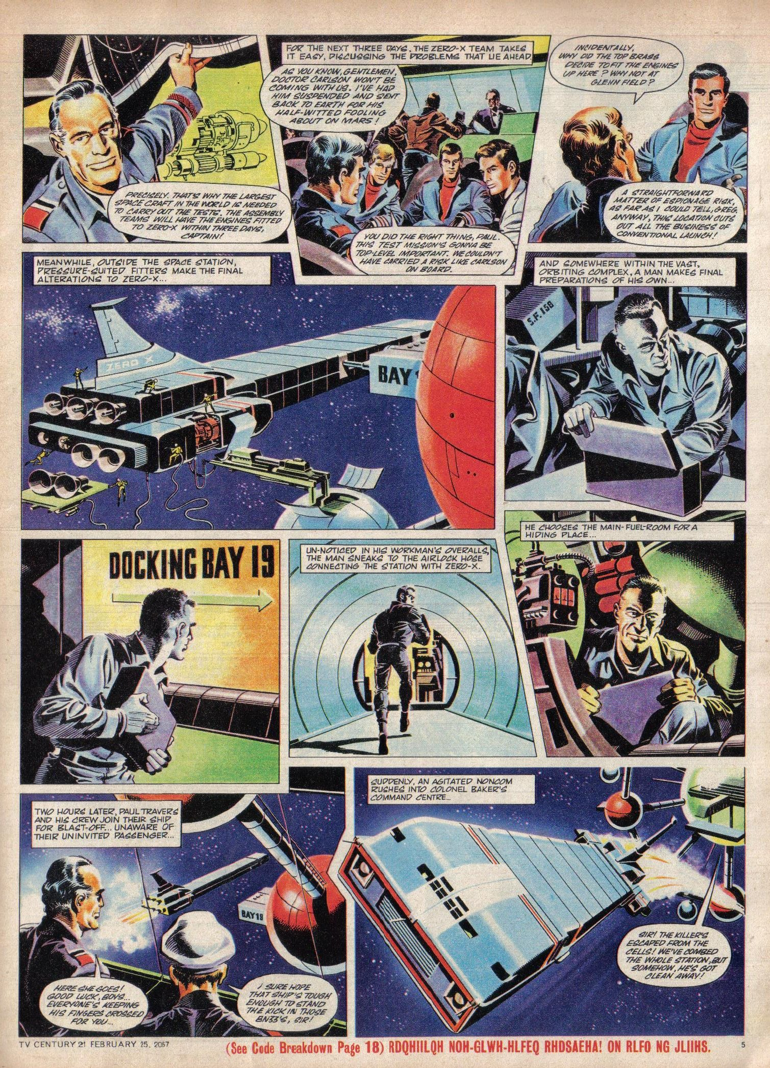 Read online TV Century 21 (TV 21) comic -  Issue #110 - 5