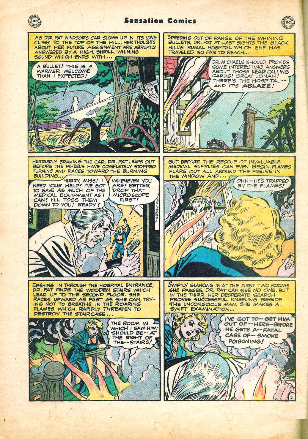 Read online Sensation (Mystery) Comics comic -  Issue #95 - 16