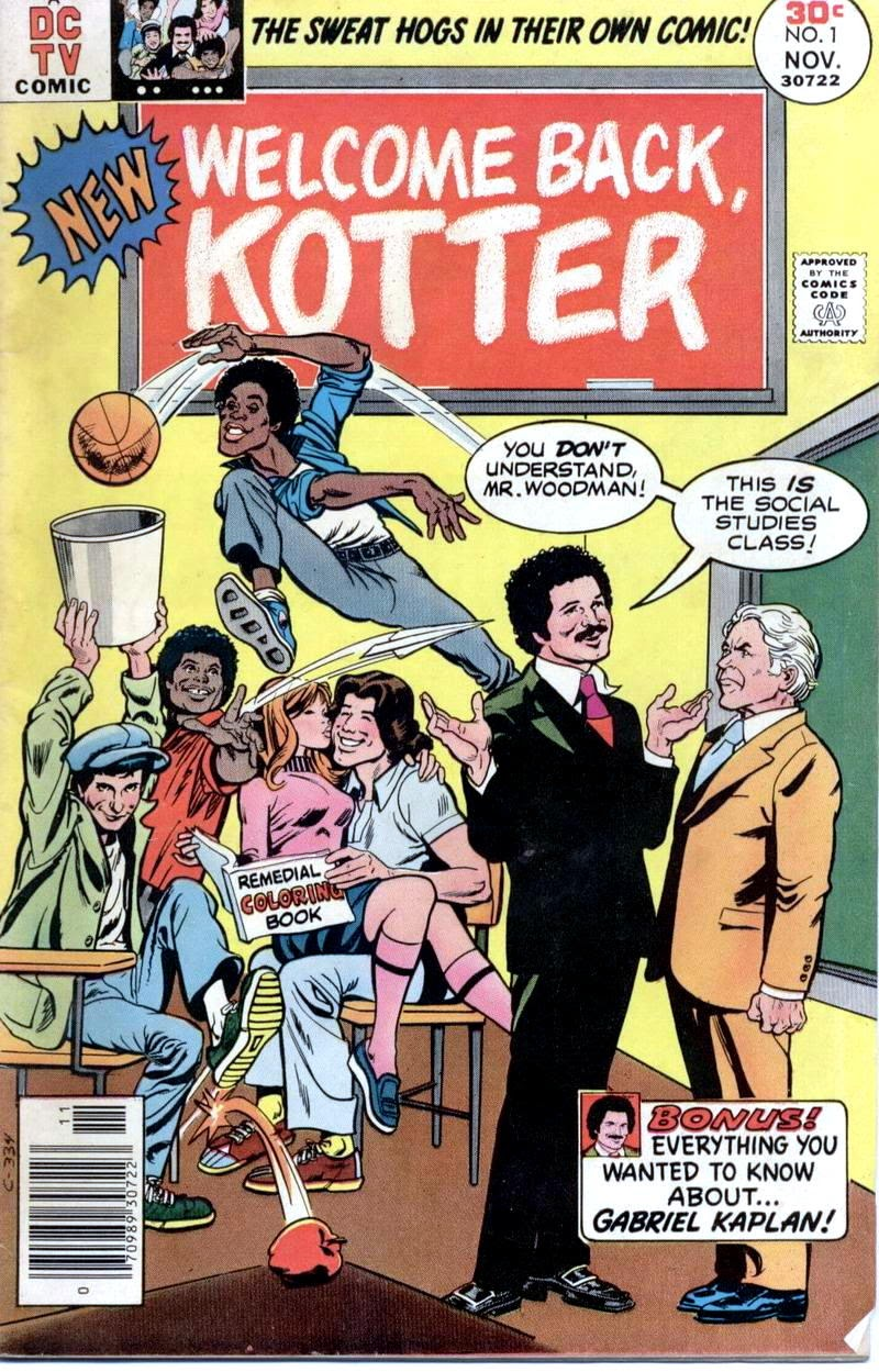 Welcome Back, Kotter issue 1 - Page 1