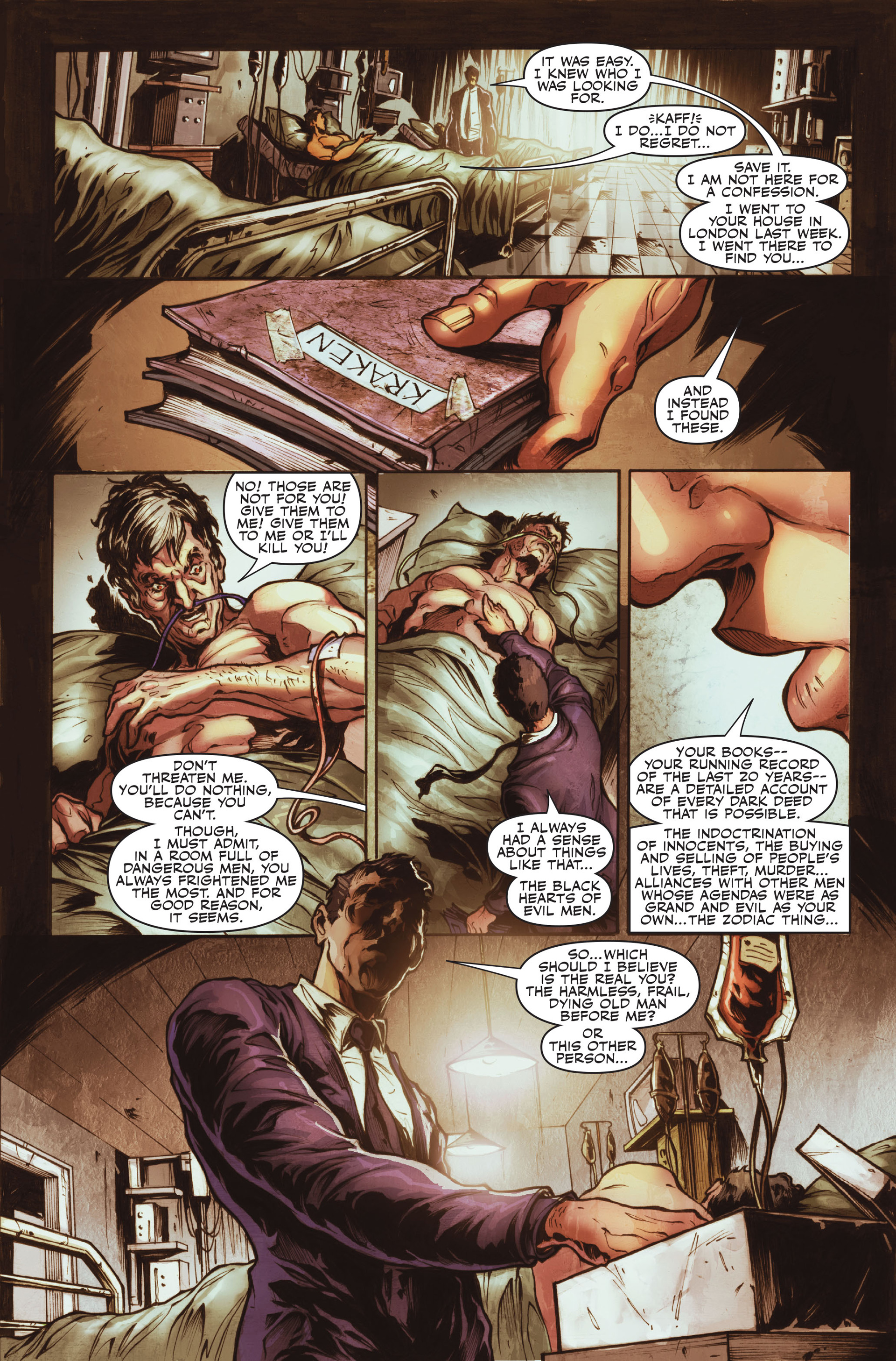 Read online Secret Warriors comic -  Issue #16 - 8