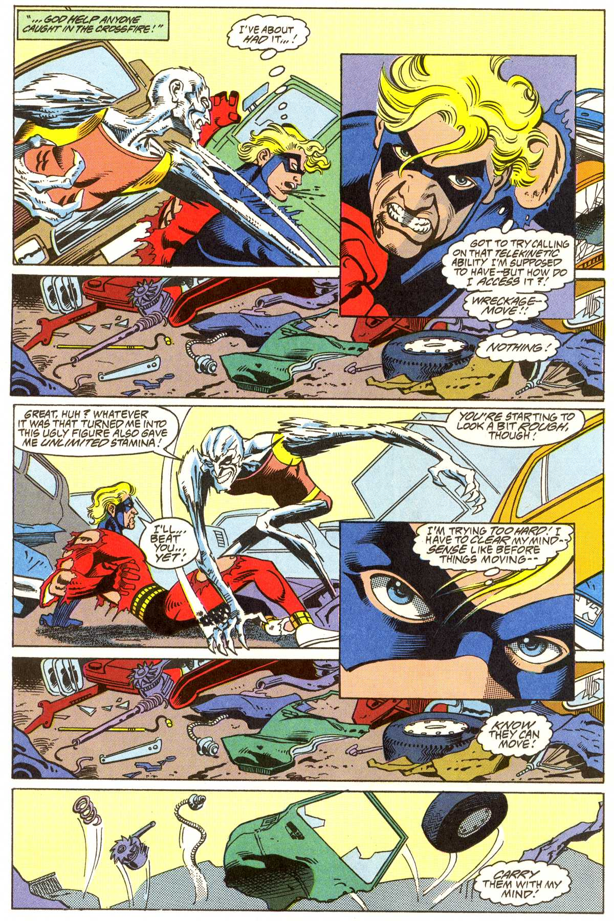 Read online Peter Cannon--Thunderbolt (1992) comic -  Issue #7 - 13