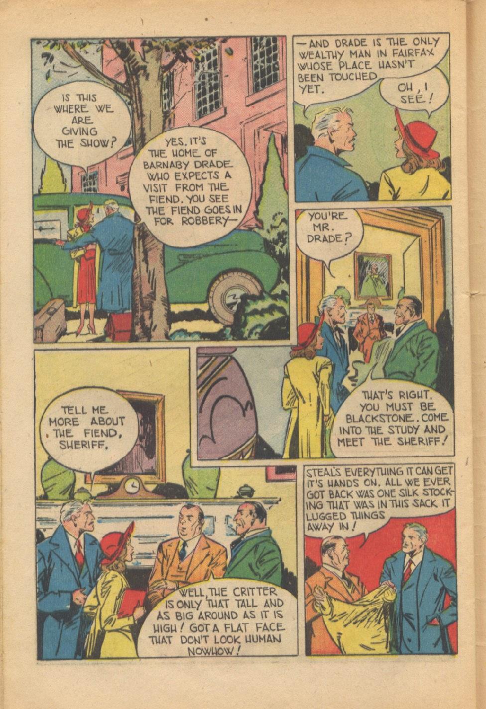 Read online Super-Magician Comics comic -  Issue #37 - 43