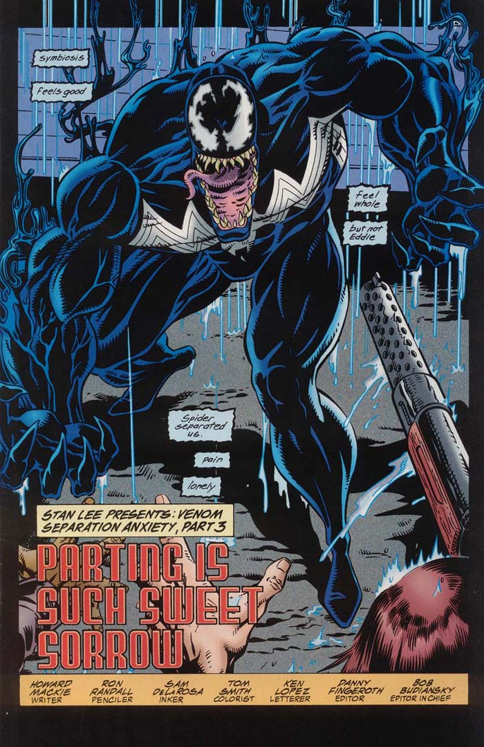 Read Online Venom Separation Anxiety Comic Issue 3