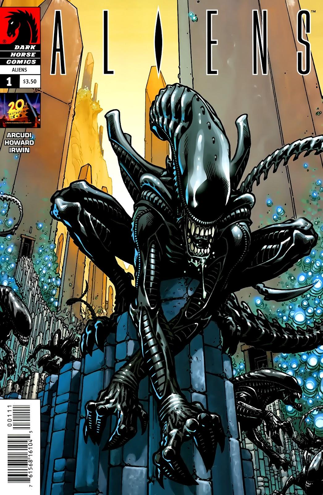 Read online Aliens (2009) comic -  Issue #1 - 2