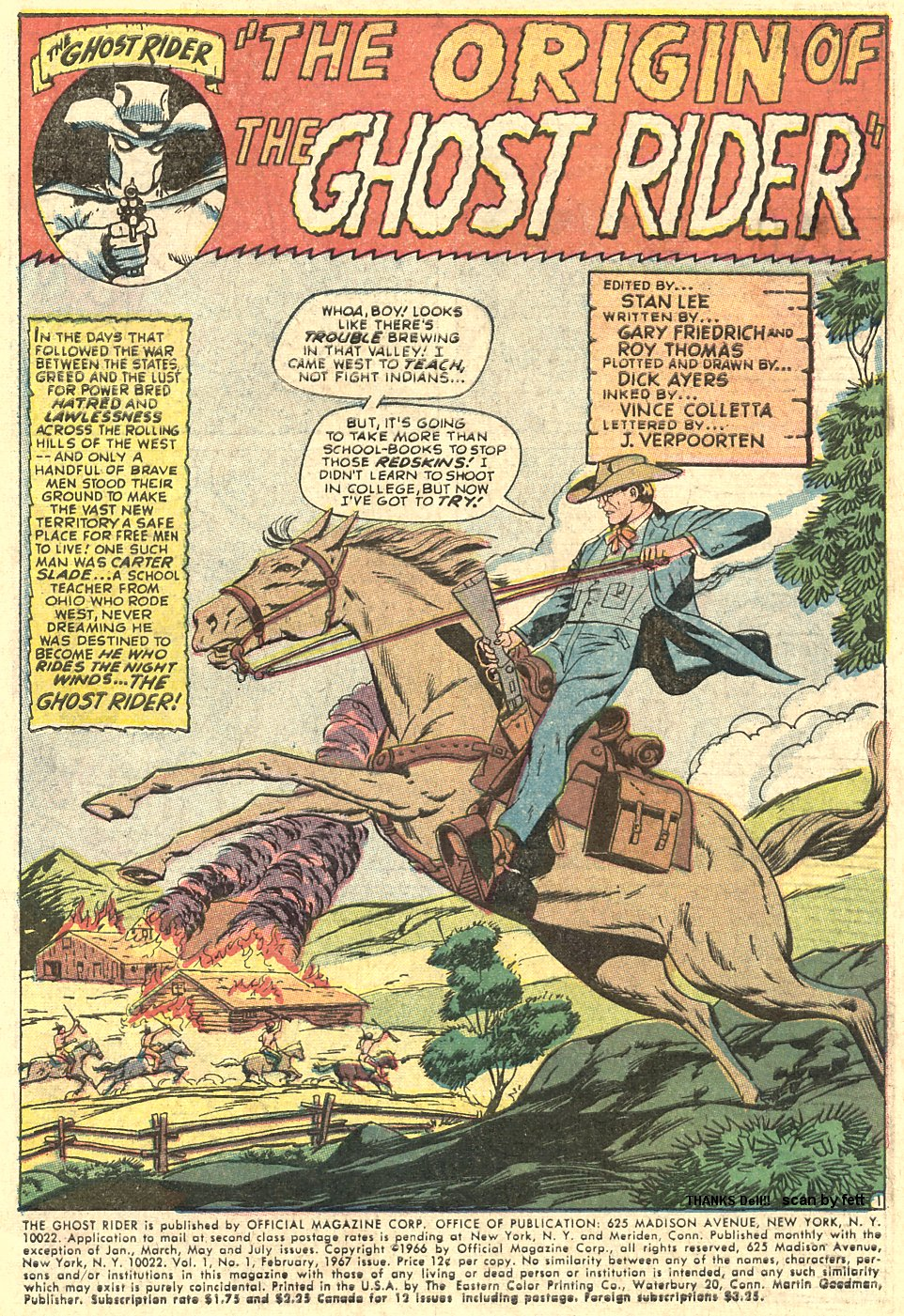 The Ghost Rider Issue #1 #1 - English 3