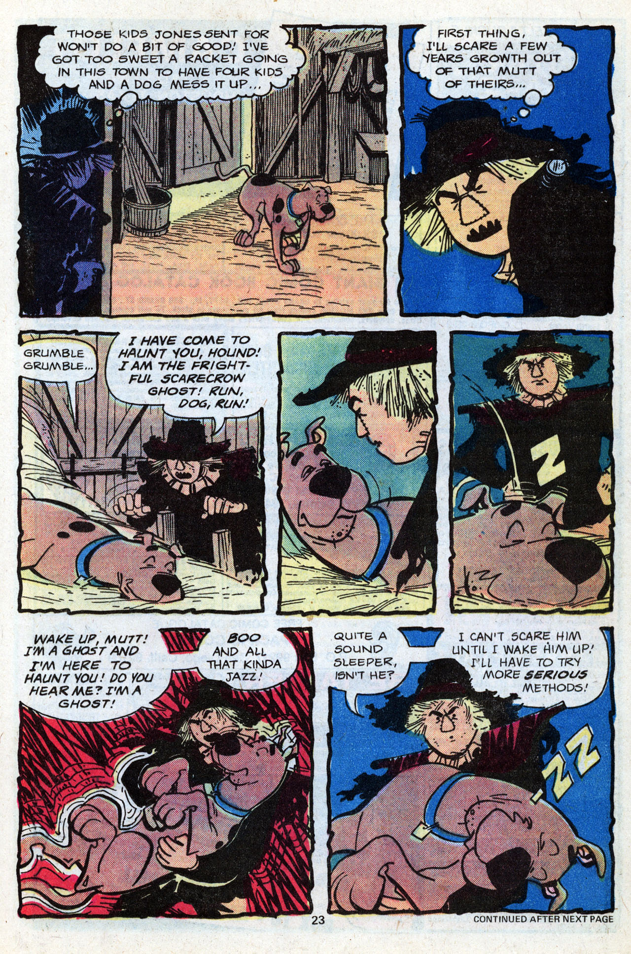 Read online Scooby-Doo (1977) comic -  Issue #7 - 25