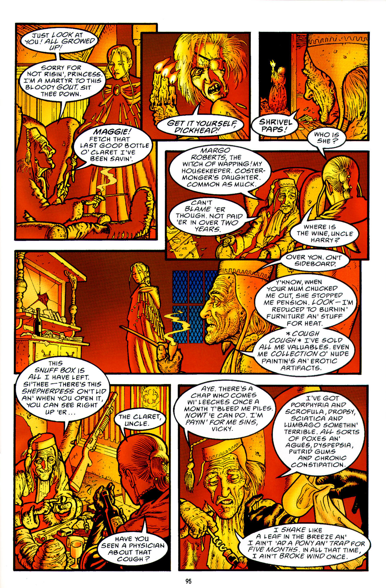 Read online Heart of Empire comic -  Issue #3 - 37