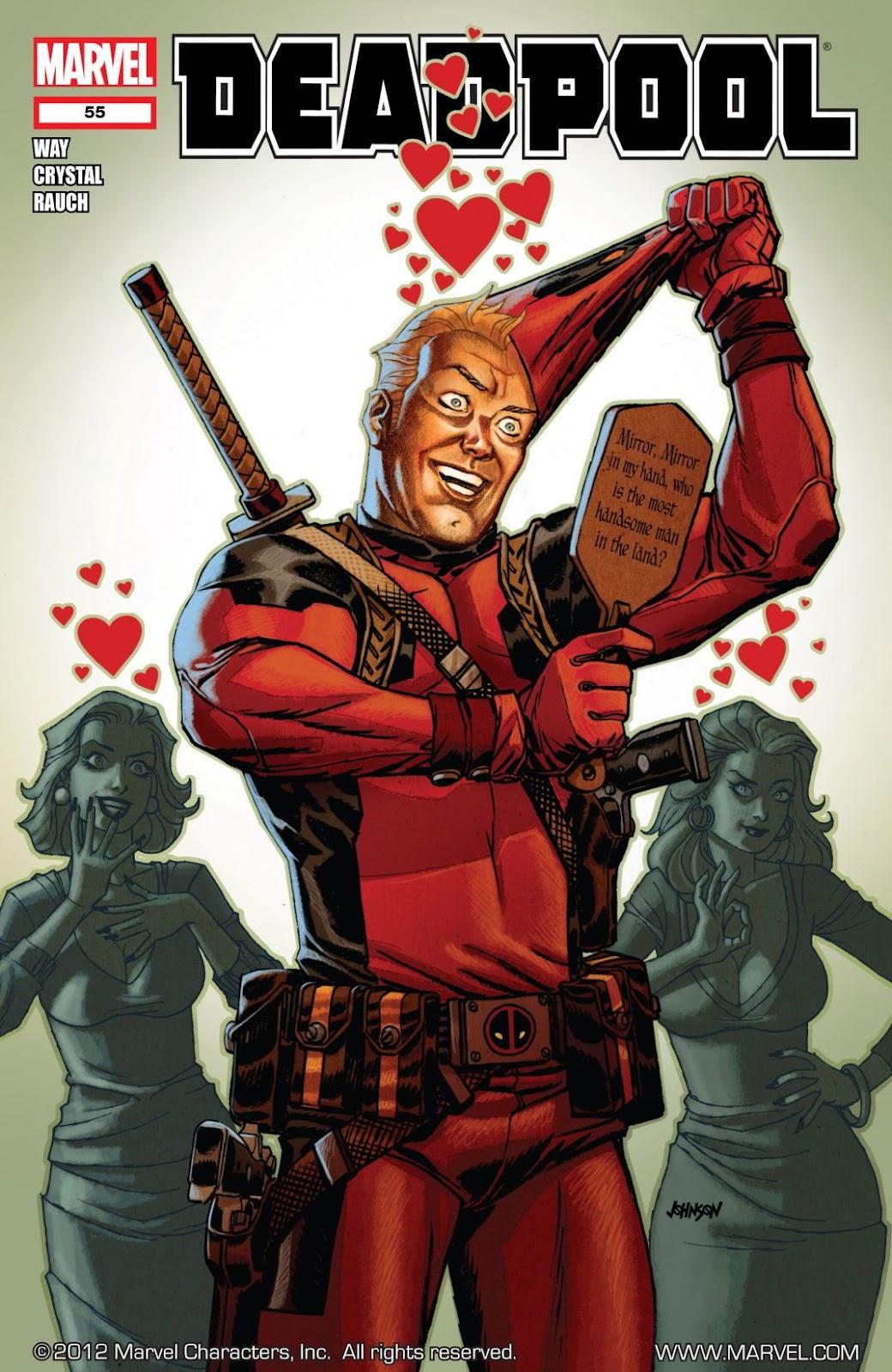 Read online Deadpool (2008) comic -  Issue #55 - 1
