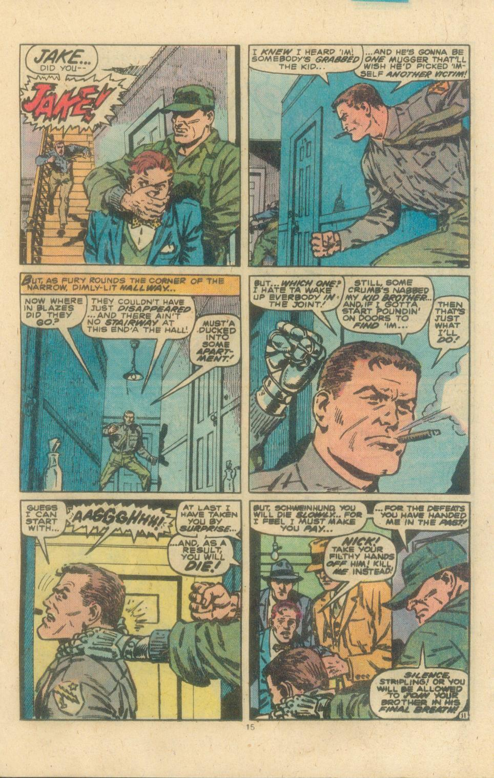 Read online Sgt. Fury comic -  Issue #162 - 17