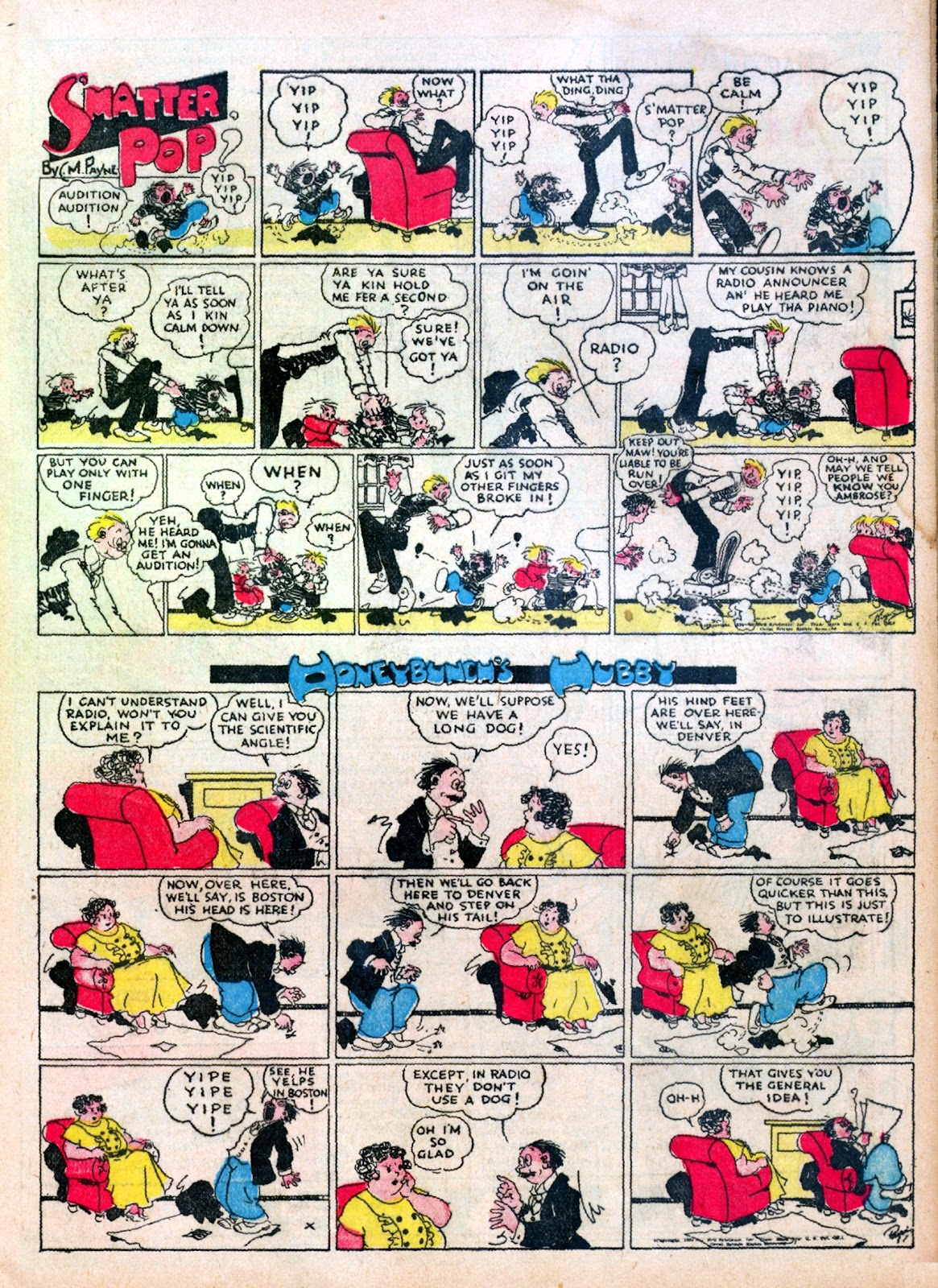 Read online Famous Funnies comic -  Issue #10 - 15