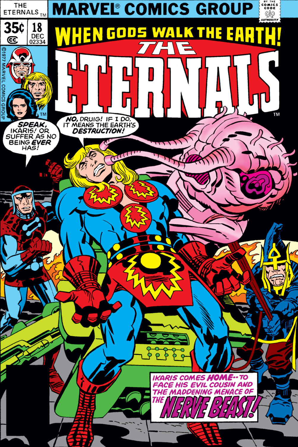 The Eternals issue 18 - Page 1