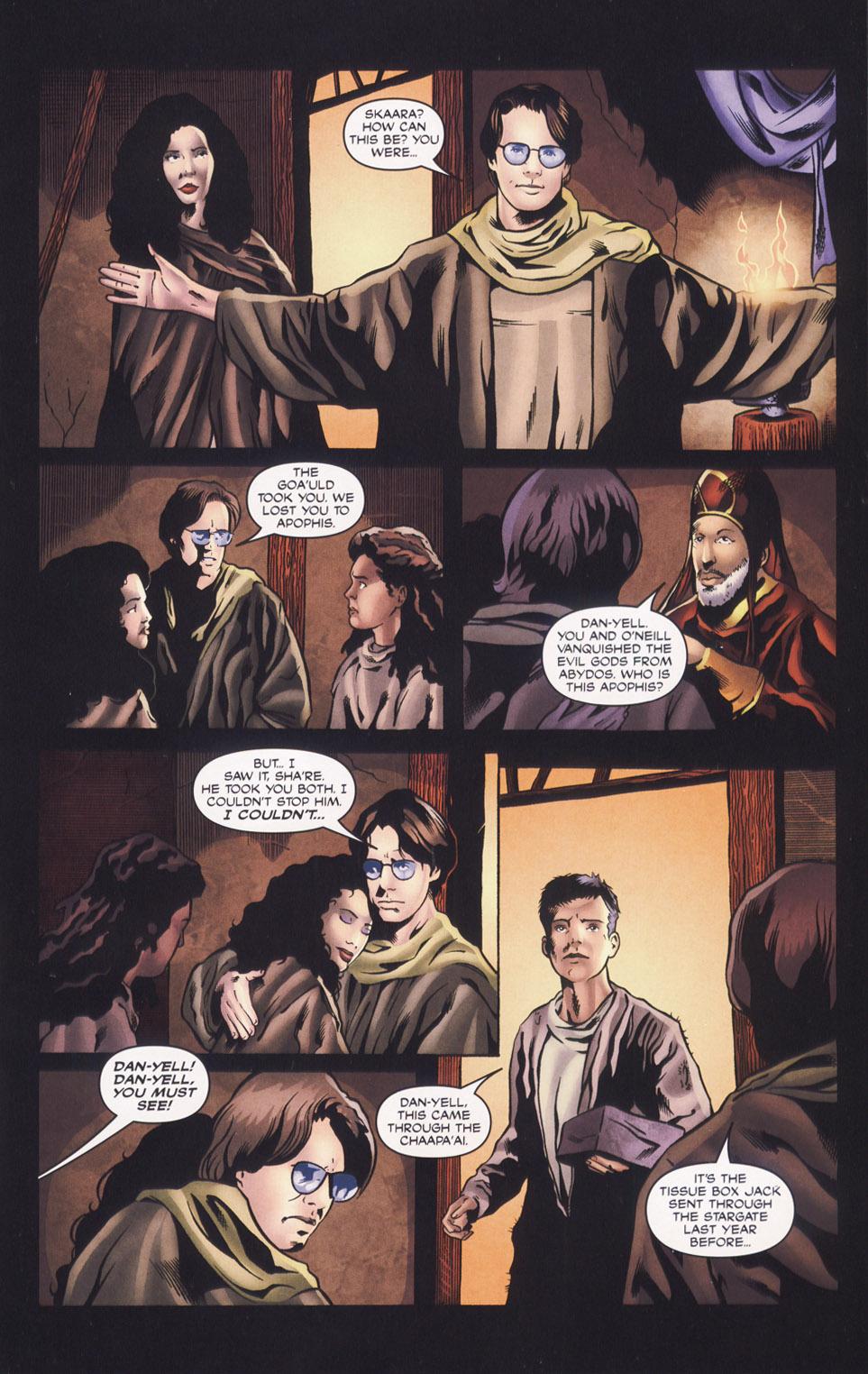 Read online Stargate SG-1: Daniel's Song comic -  Issue # Full - 7
