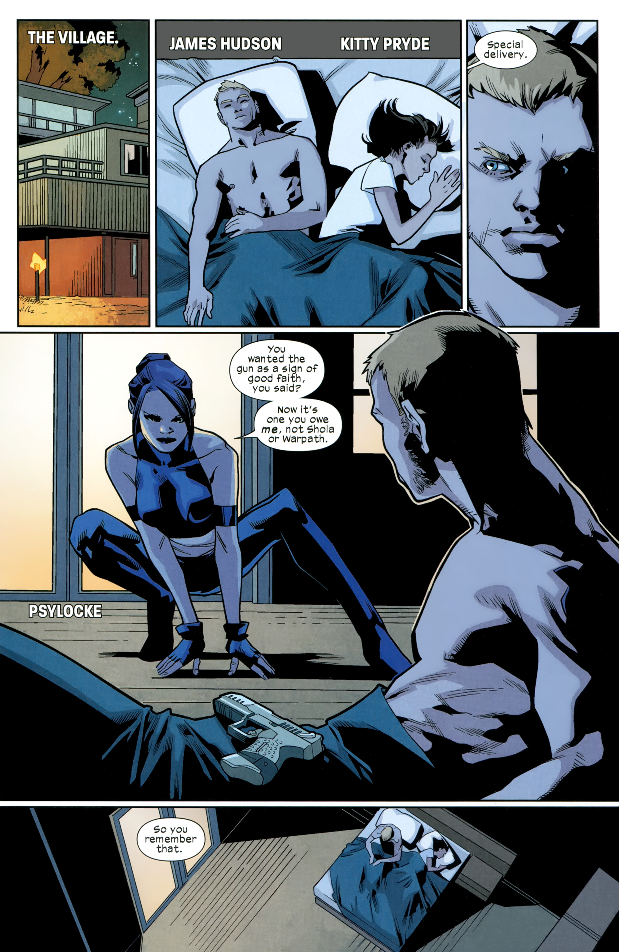 Read online Ultimate Comics X-Men comic -  Issue #26 - 4