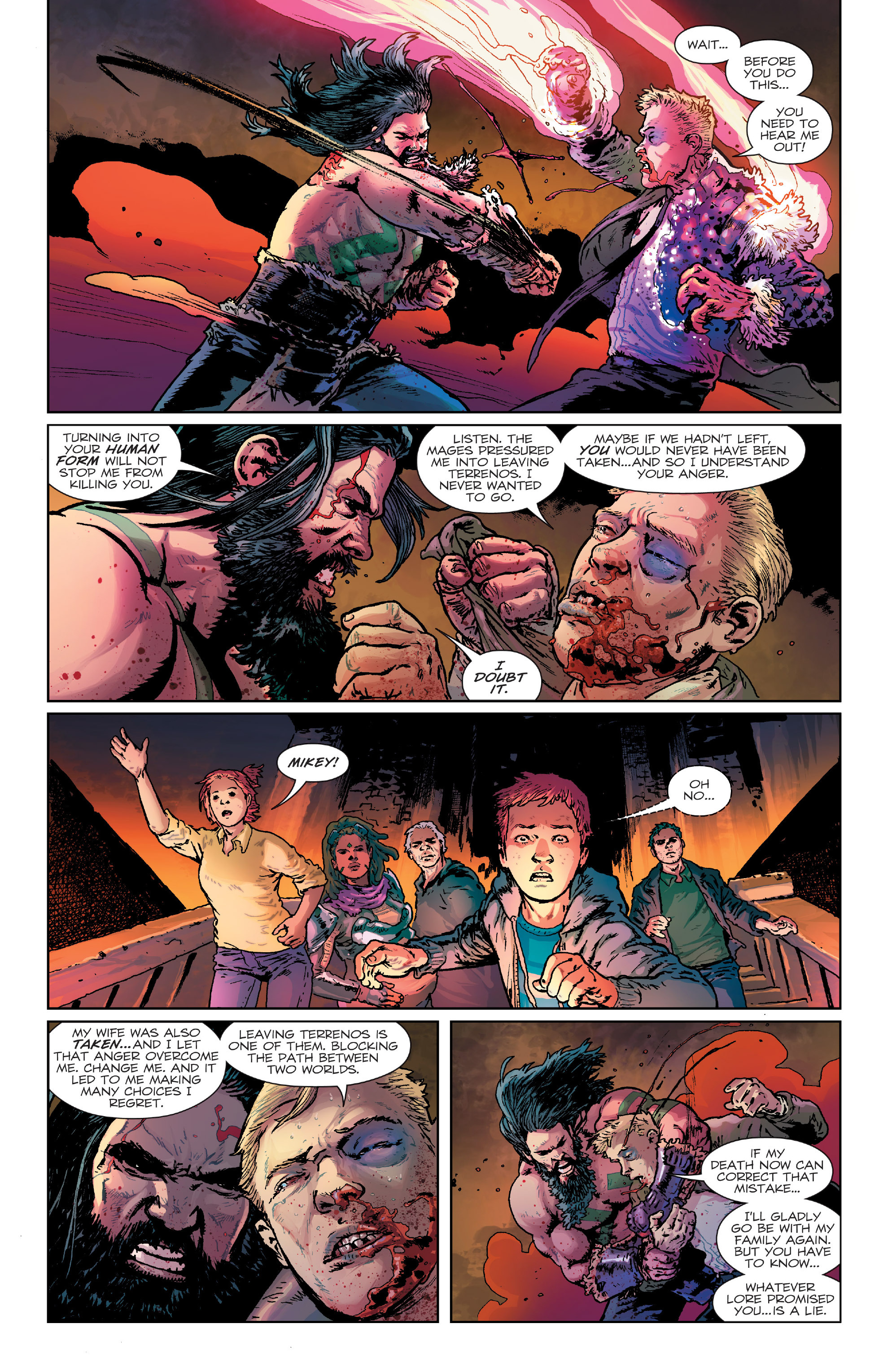 Read online Birthright (2014) comic -  Issue #24 - 14