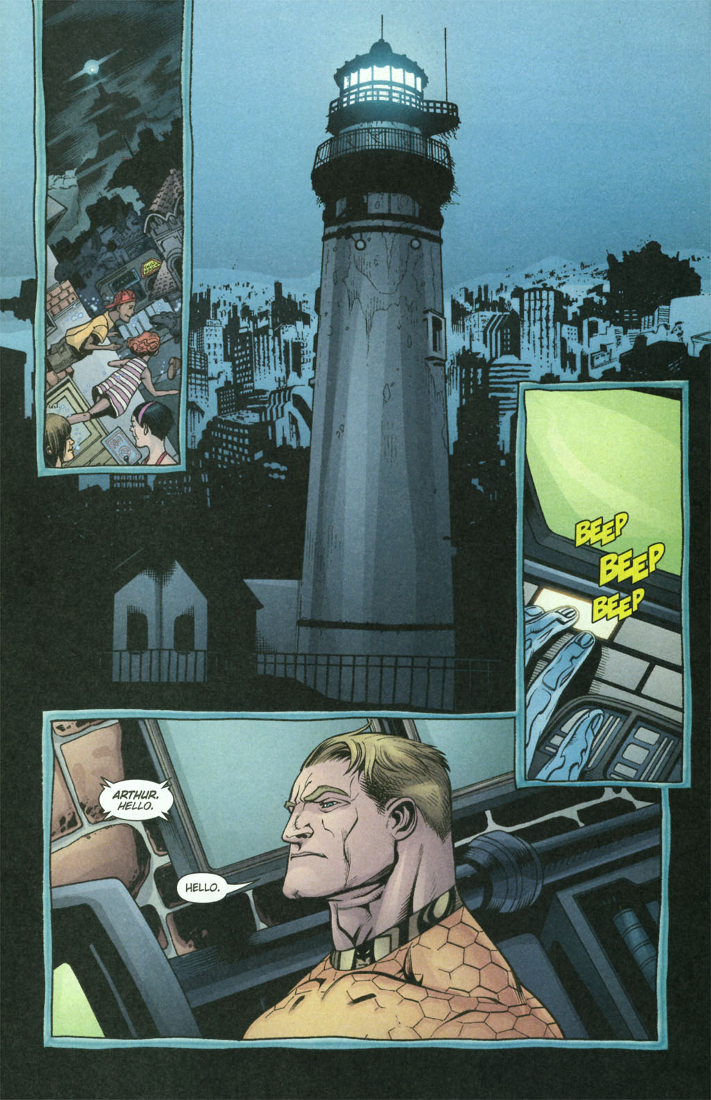 Read online Aquaman (2003) comic -  Issue #21 - 22