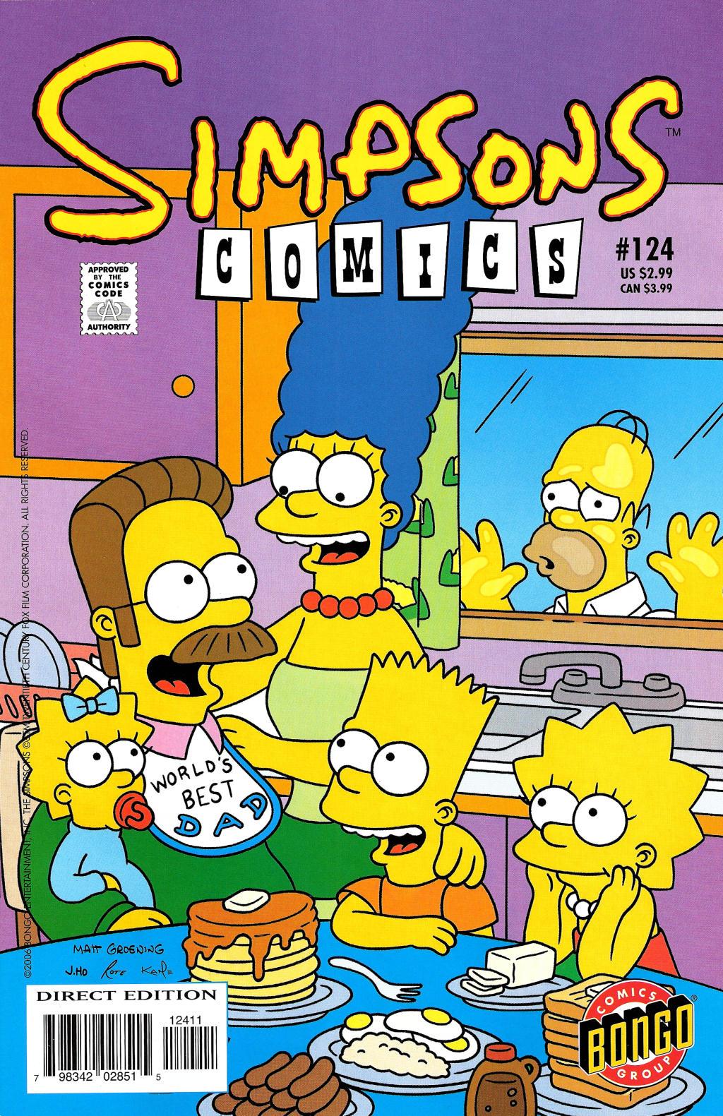 Read online Simpsons Comics comic -  Issue #124 - 1