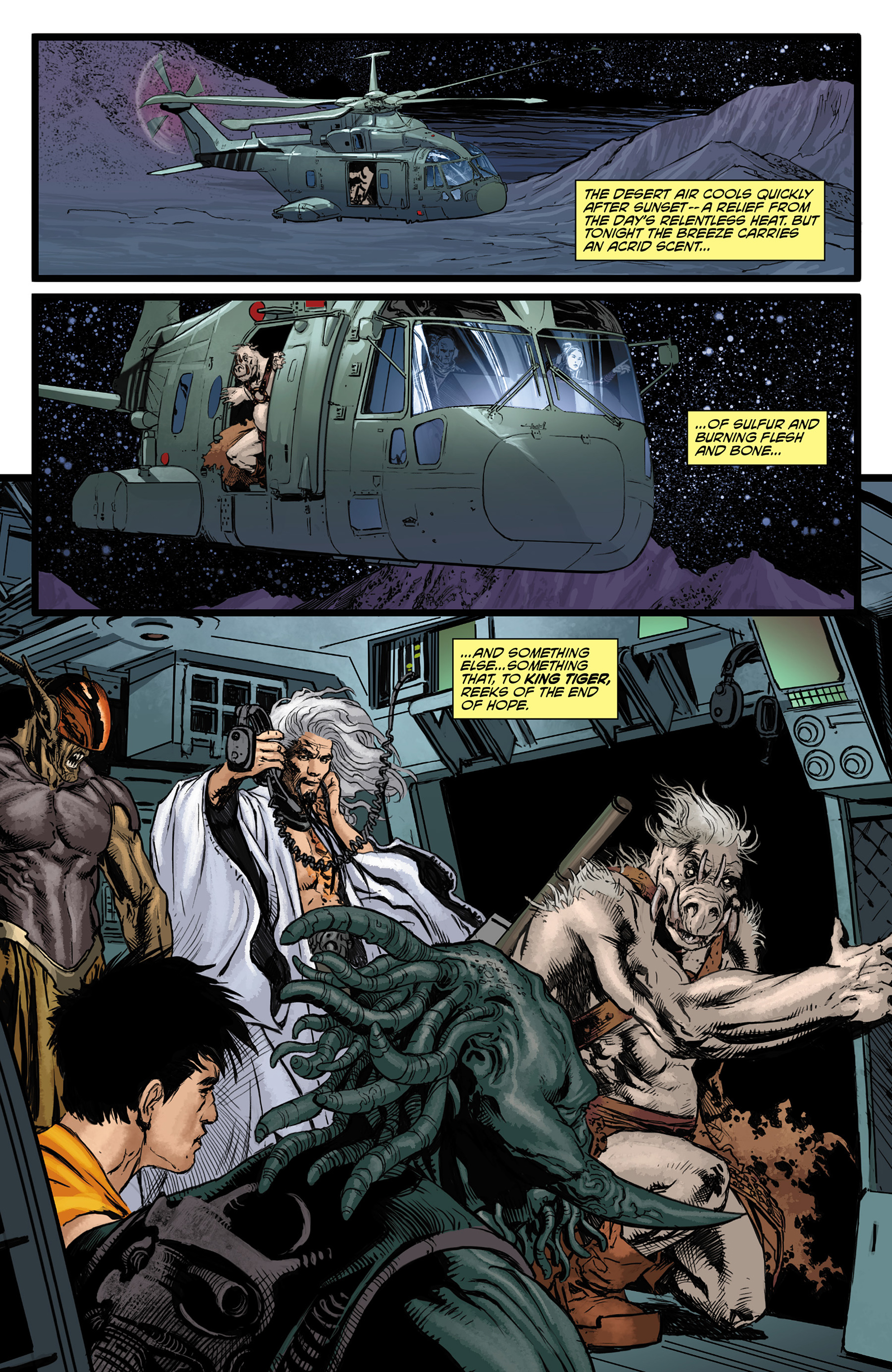 Read online King Tiger comic -  Issue #3 - 3