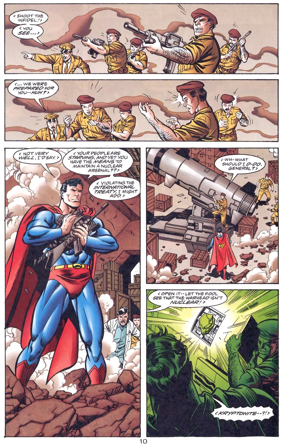 Read online Adventures of Superman (1987) comic -  Issue #566 - 11