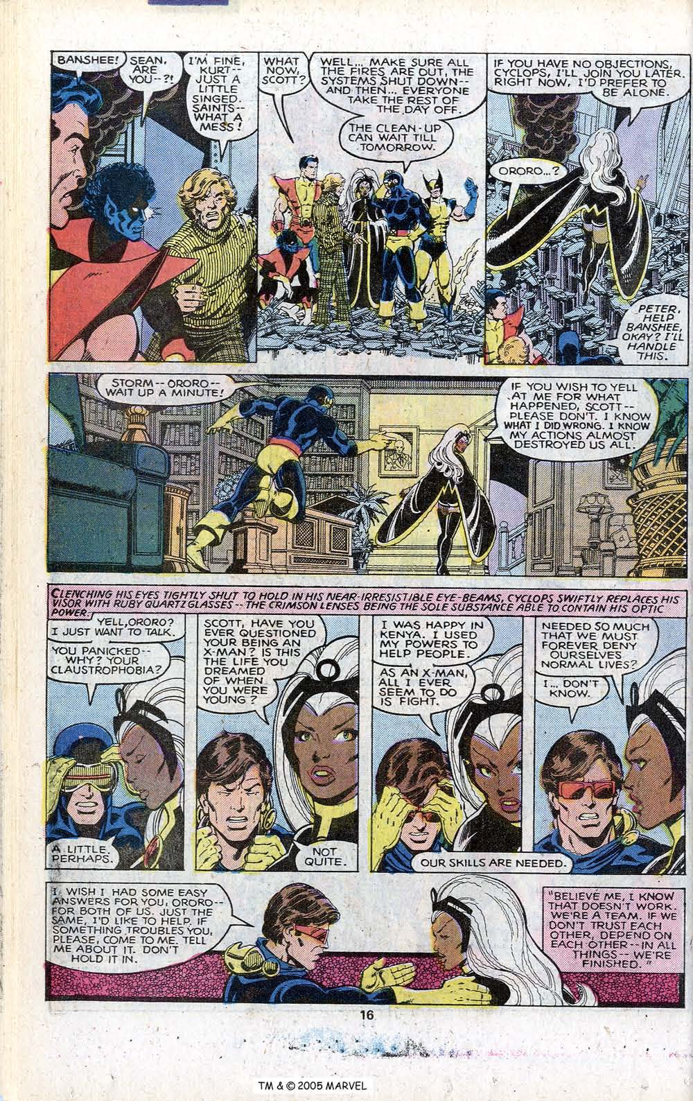 Read online Uncanny X-Men (1963) comic -  Issue # _Annual 3 - 18