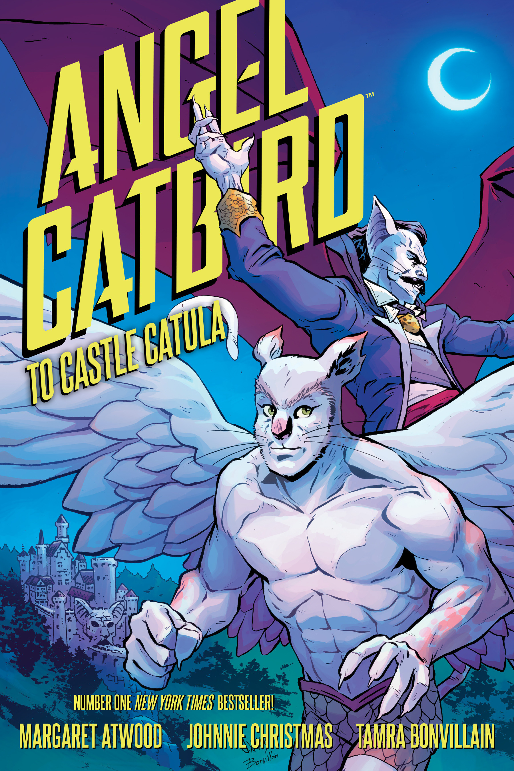 Read online Angel Catbird comic -  Issue # TPB 2 - 1