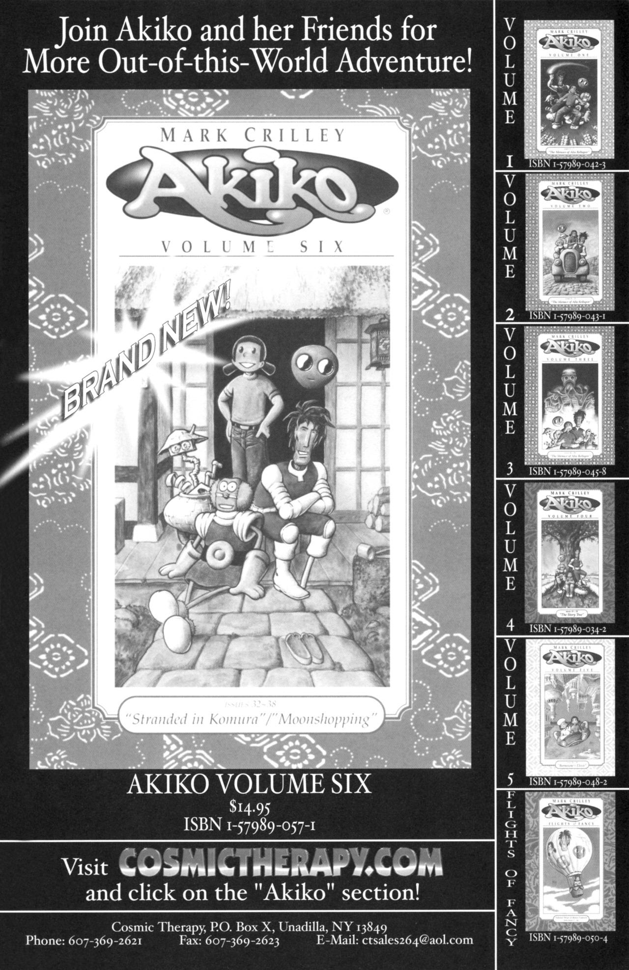 Read online Akiko comic -  Issue #52 - 25