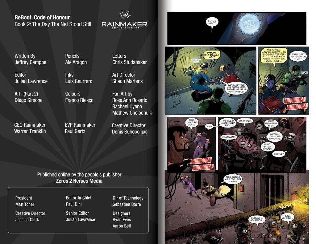 Read online ReBoot: Paradigms Lost comic -  Issue # Full - 2