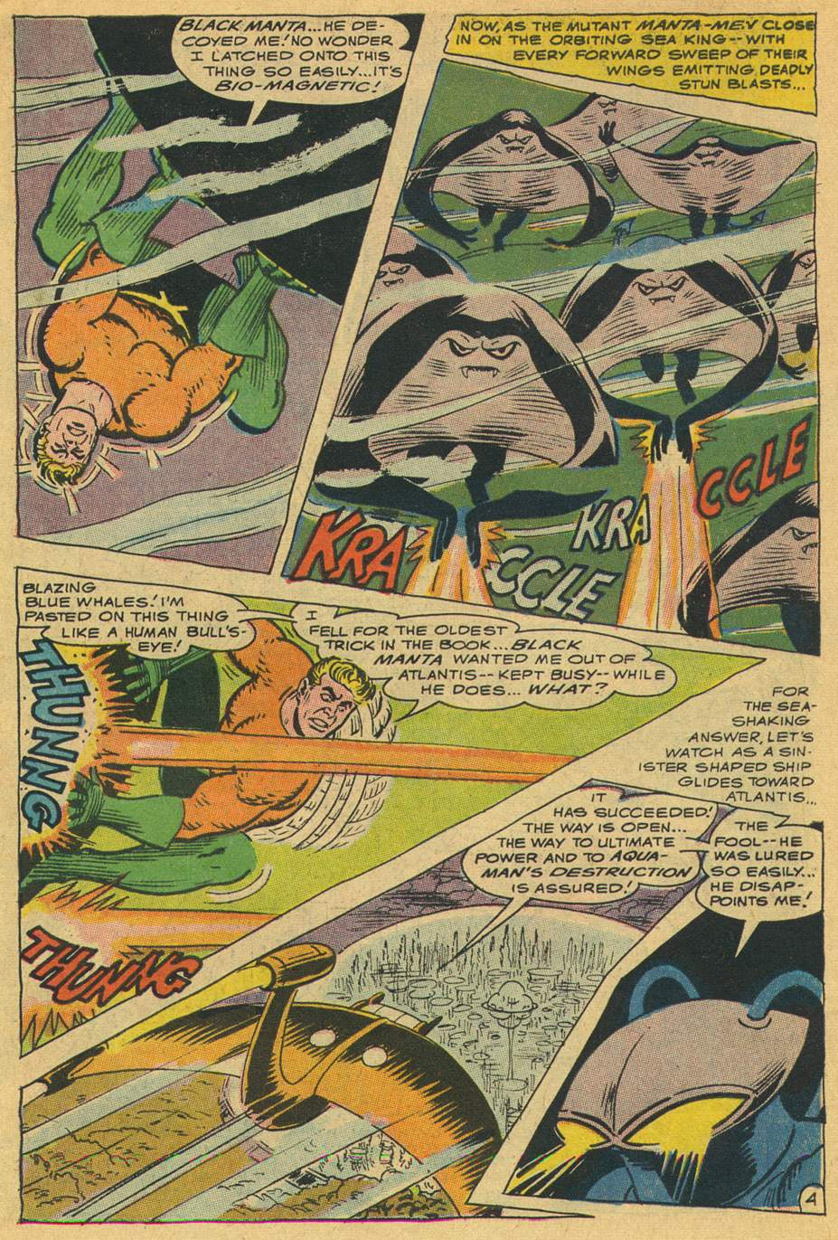 Read online Aquaman (1962) comic -  Issue #35 - 7