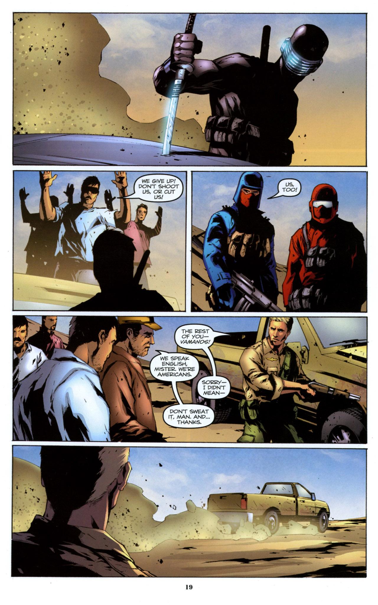 G.I. Joe: A Real American Hero 157 Page 20