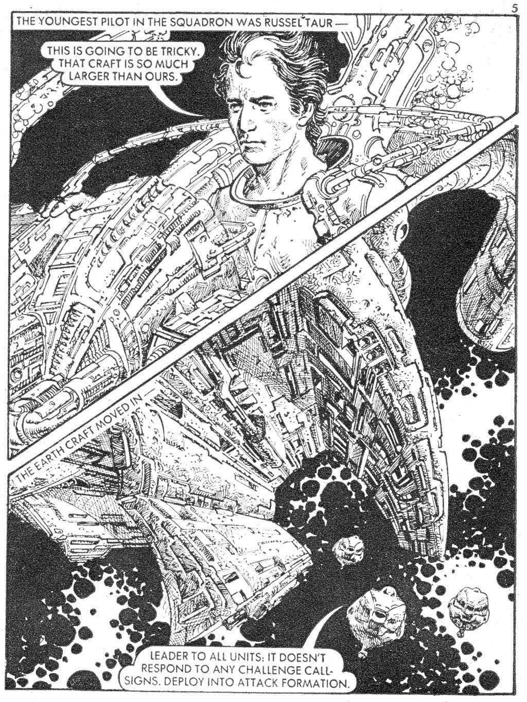 Starblazer issue 87 - Page 5